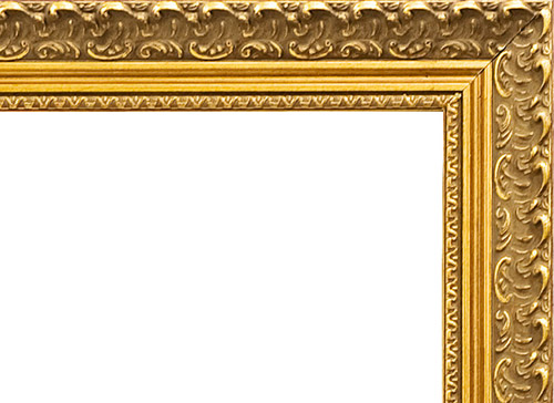 gold frame border large gold frame
