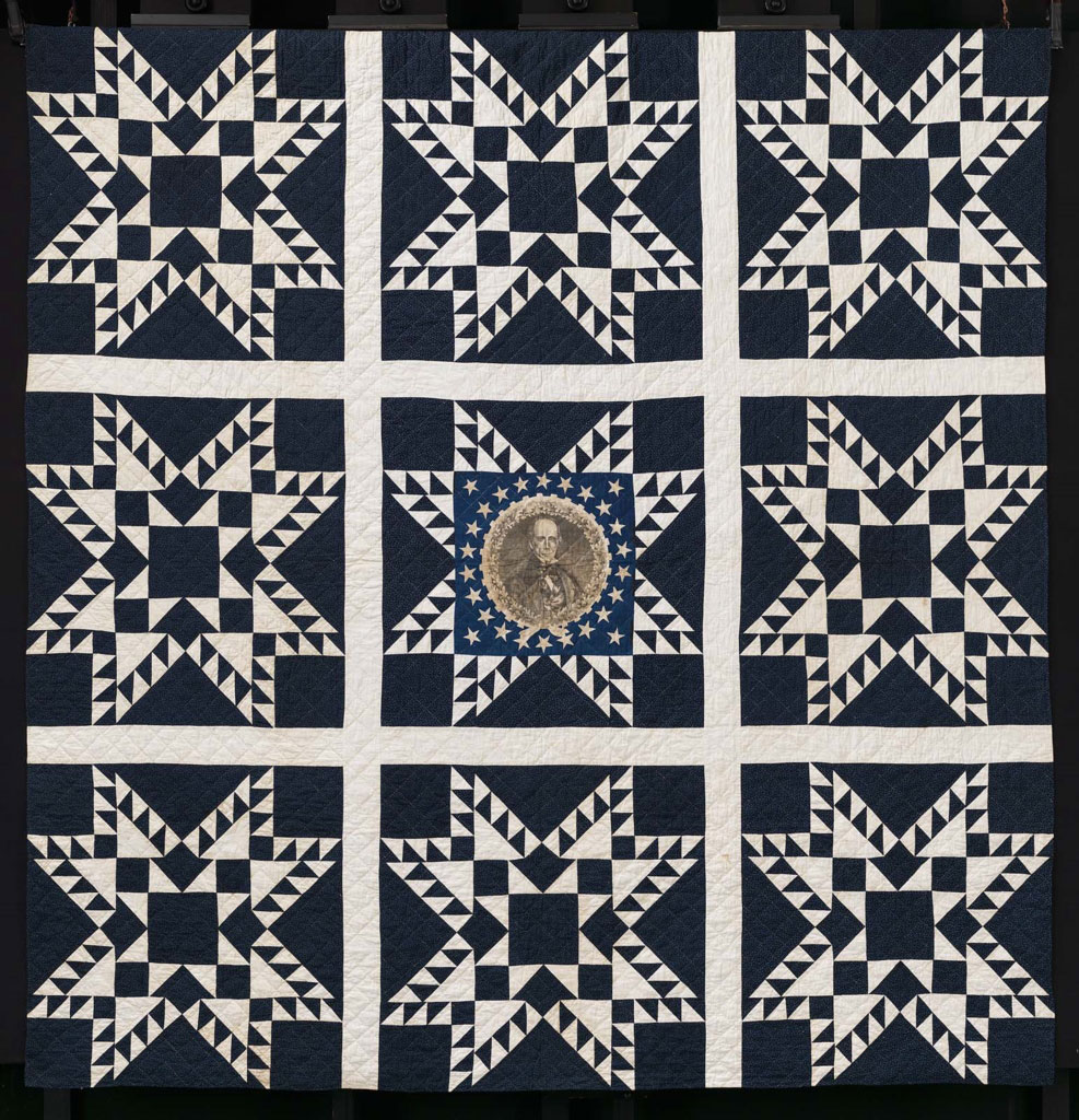 Henry Clay Feathered Star Quilt