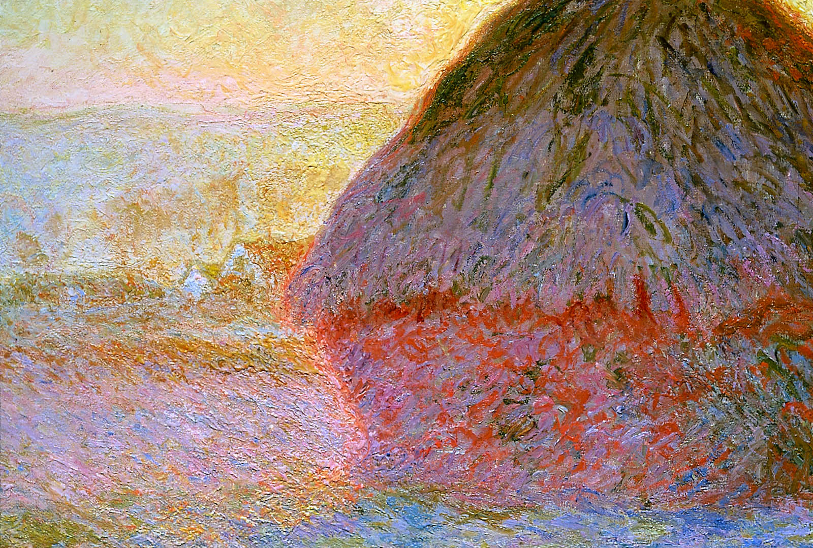 an analysis of grainstack sunset by claude monet The grainstack at sunset 1891 painting originally painted by claude oscar monet can be yours today all reproductions are hand painted by talented artists free shipping the grainstack at sunset 1891 painting originally painted.