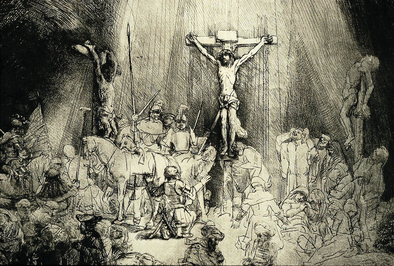Christ Crucified Between The Two Thieves Quot The Three