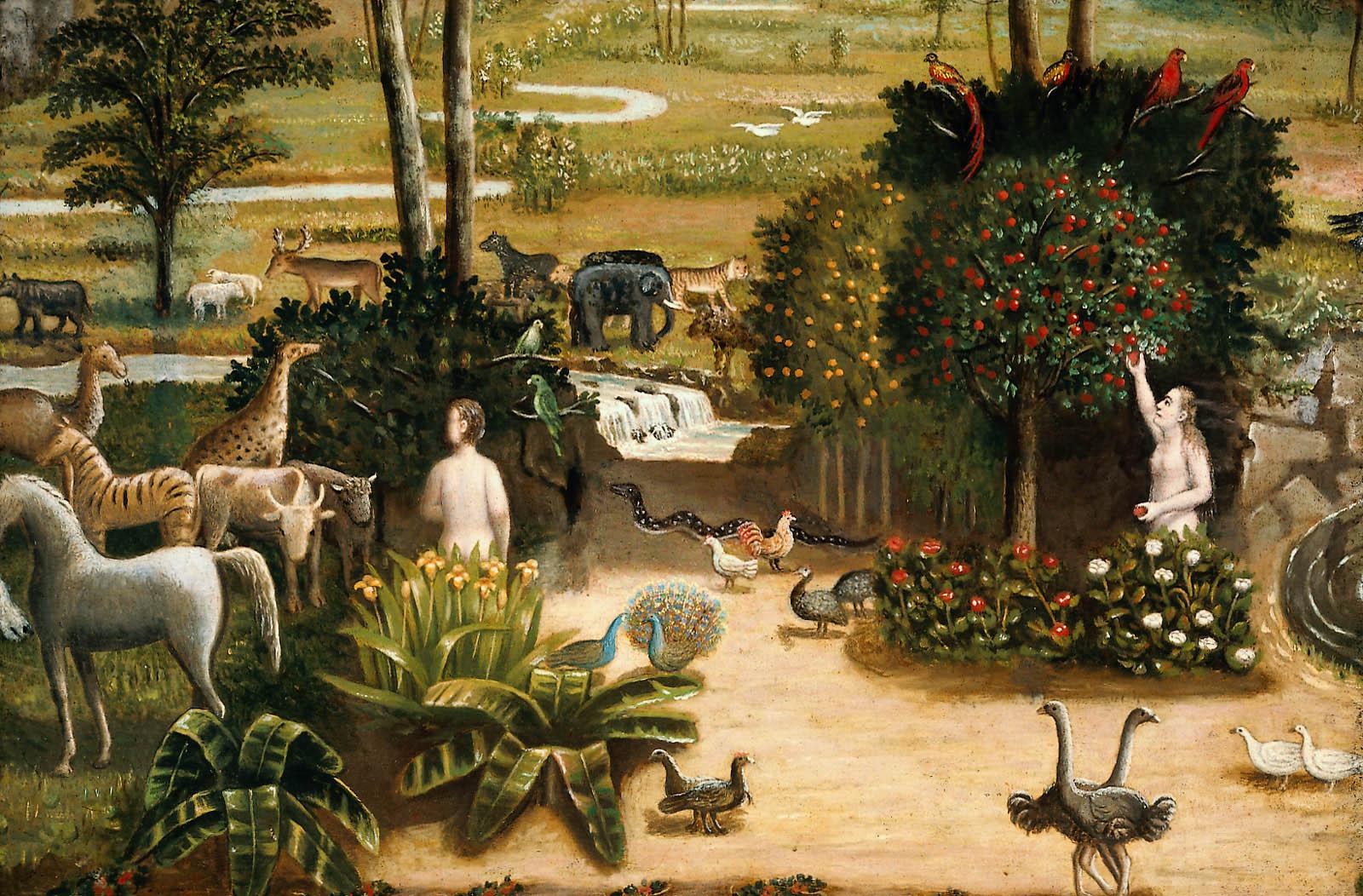 The garden of eden museum of fine arts boston for Jardin of eden
