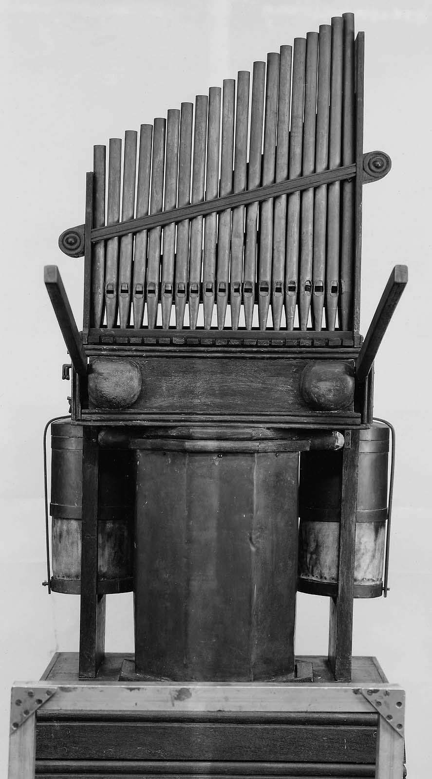 organ hydraulis after 1st century roman type mfa for