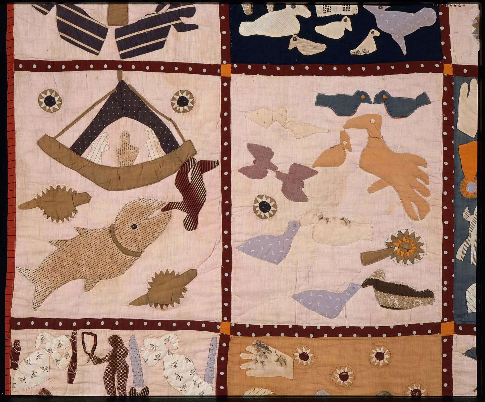 Pictorial quilt | Museum of Fine Arts, Boston : harriet powers bible quilt - Adamdwight.com