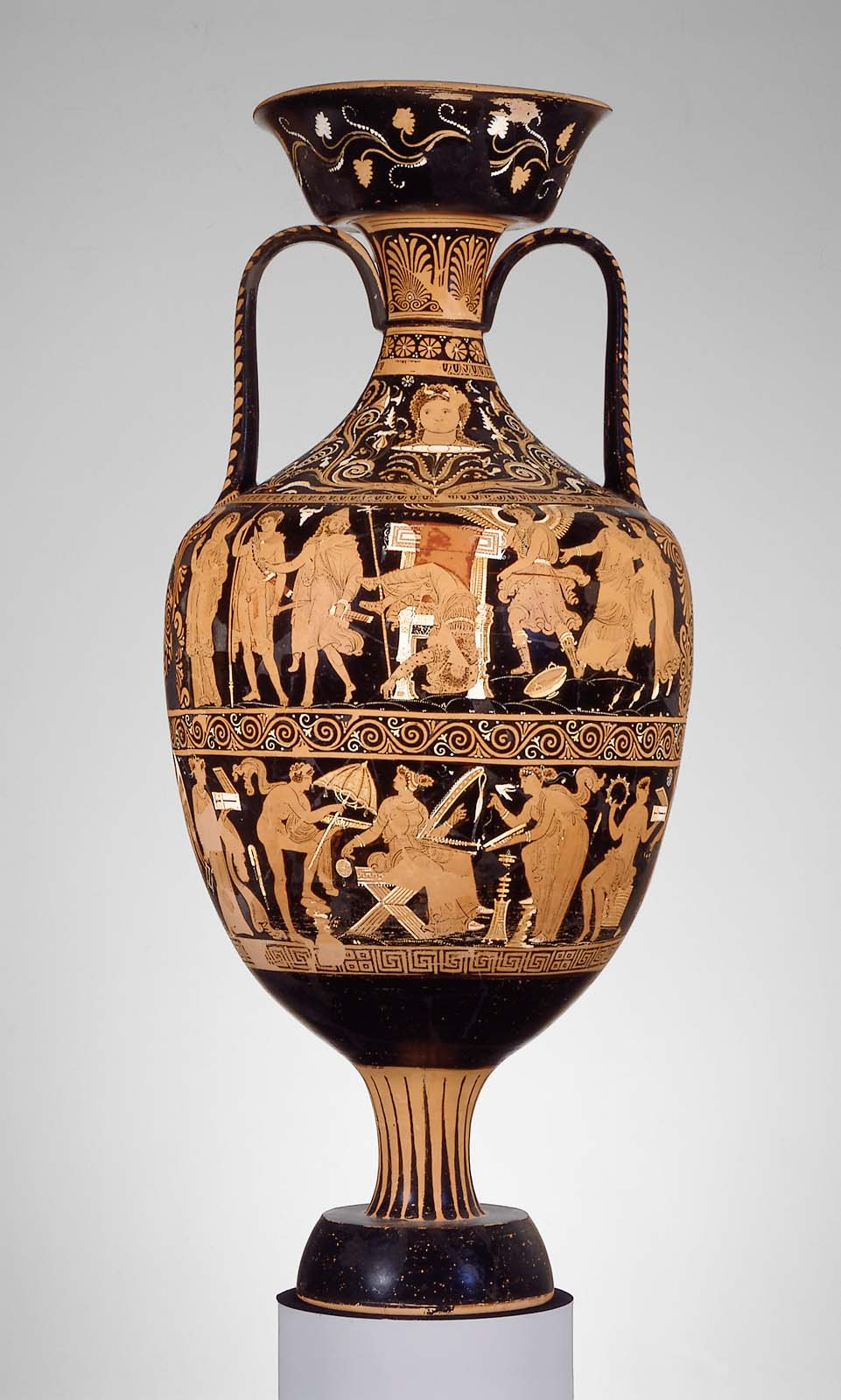 Two handled jar amphora depicting the murder of atreus museum you are here reviewsmspy