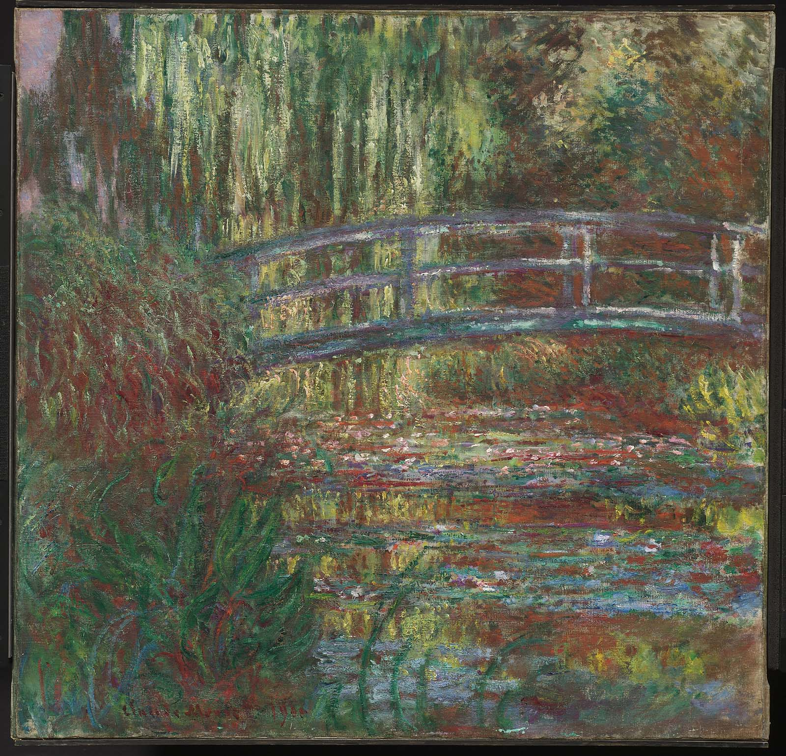 The Water Lily Pond | Museum of Fine Arts, Boston
