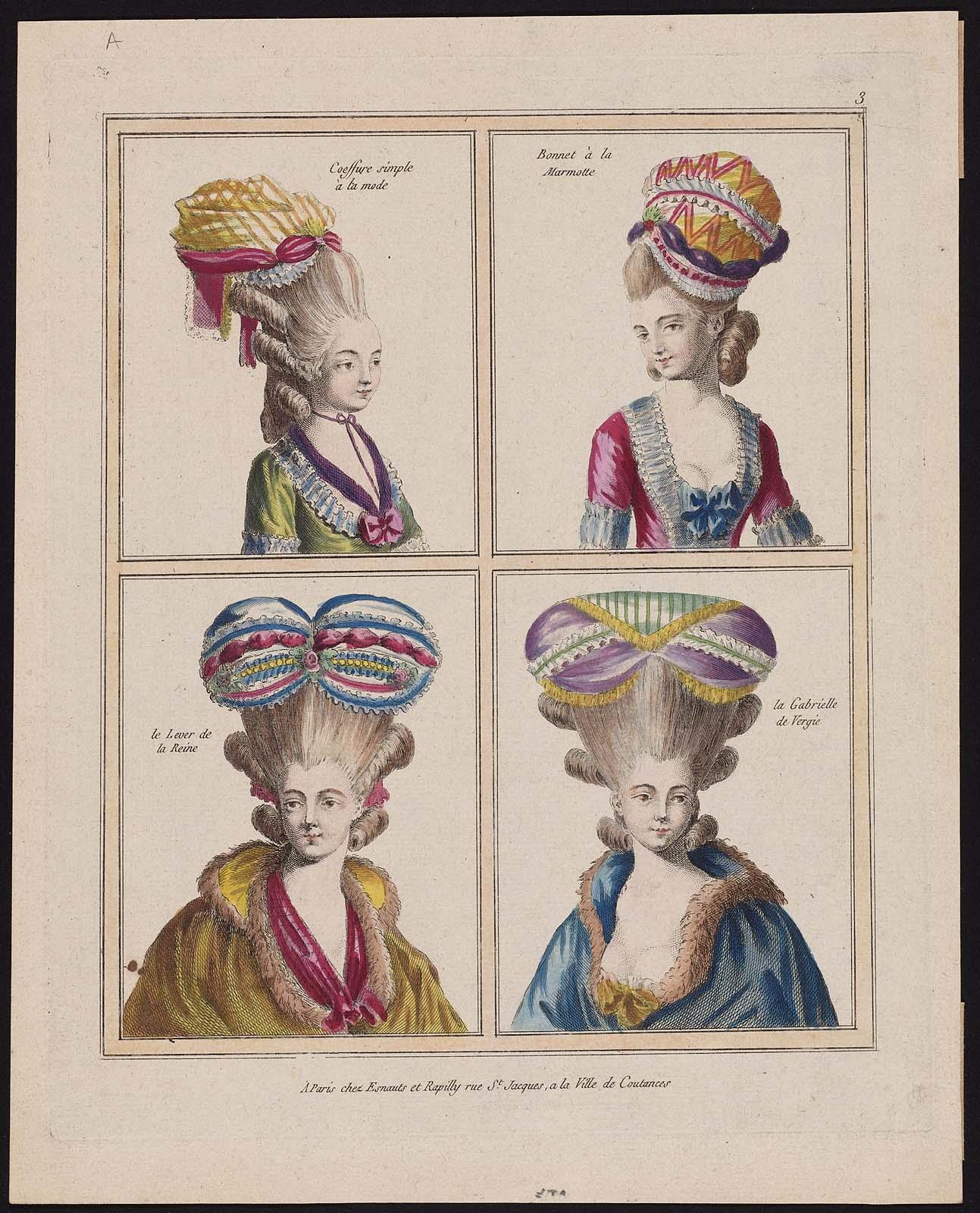 Gallerie des Modes et Costumes Français. 1ere Suite des Costumes ...