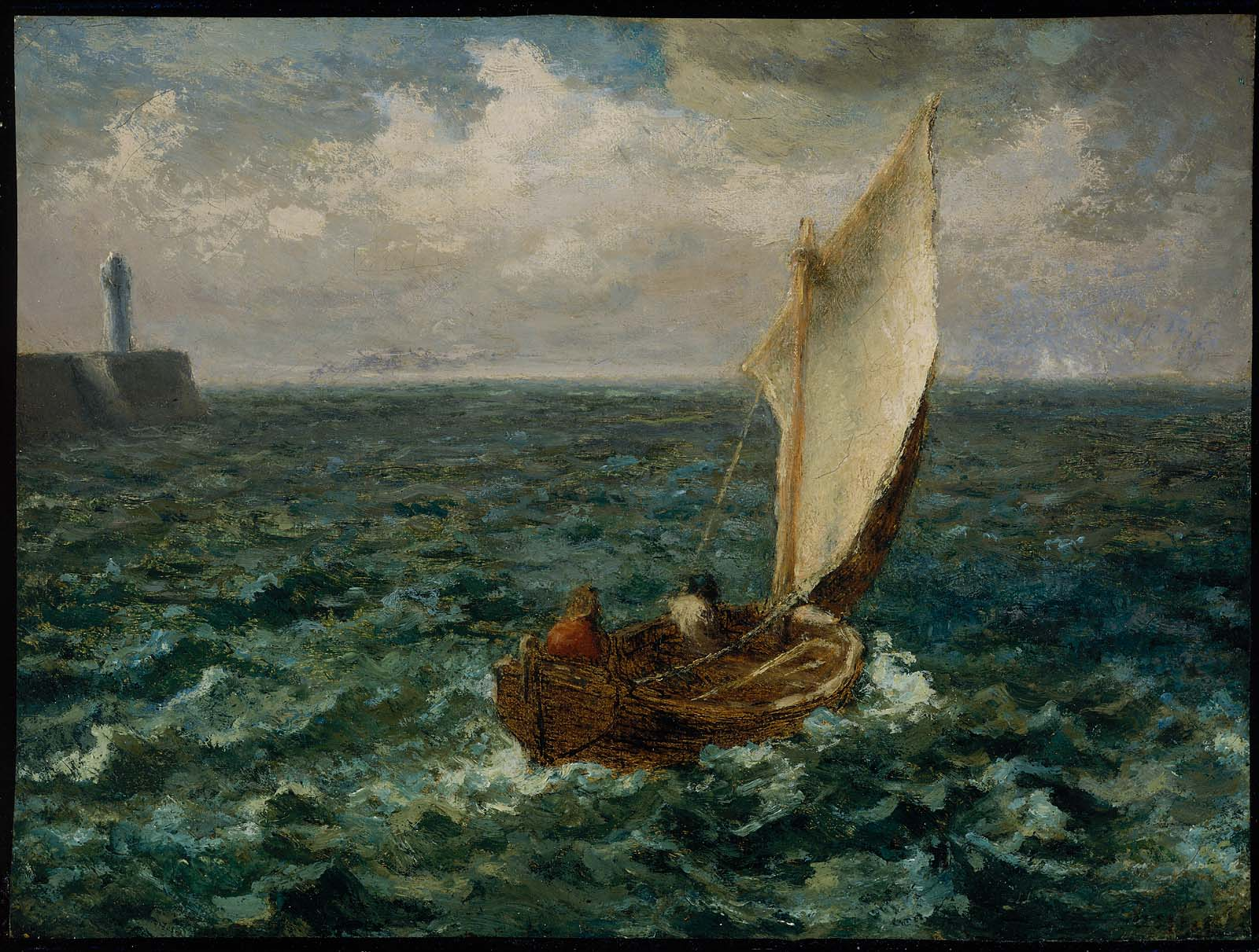 Old Sale Boat Paintings