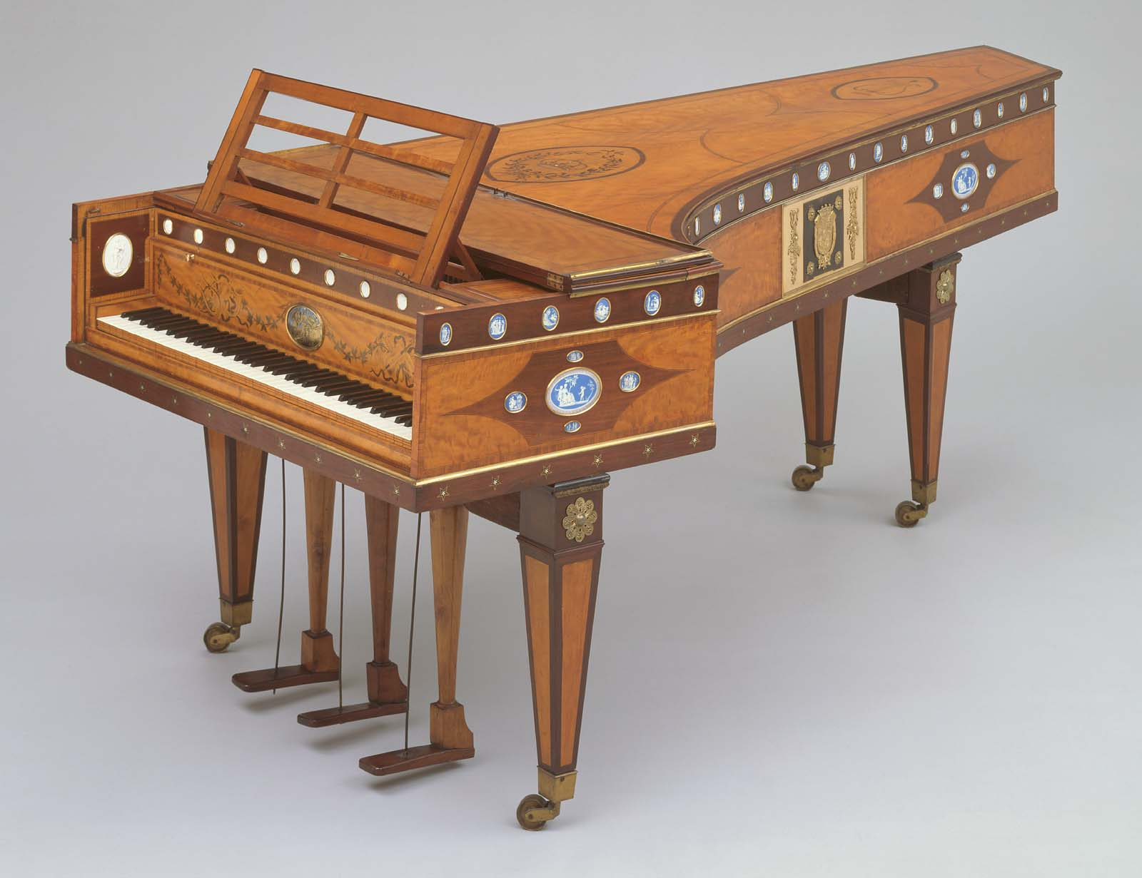 Musical Furniture Musical Instruments Collection Highlights Museum Of Fine Arts