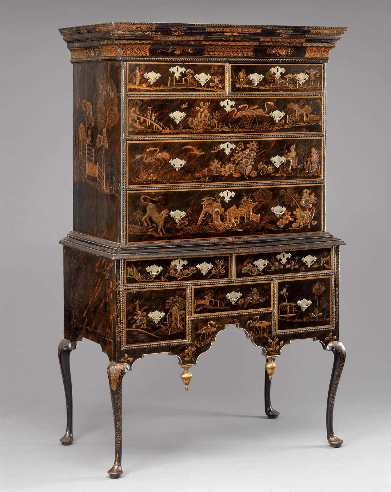 High Chest Of Drawers Museum Of Fine Arts Boston