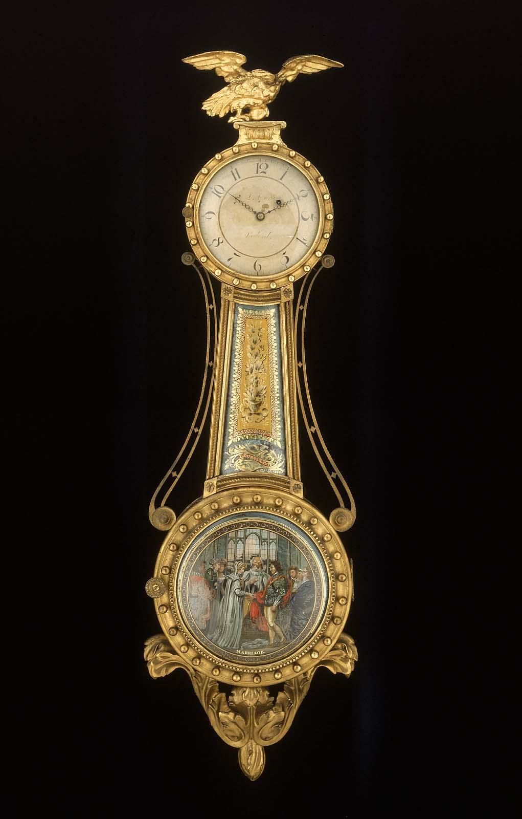 Girandole Wall Clock Museum Of Fine Arts Boston