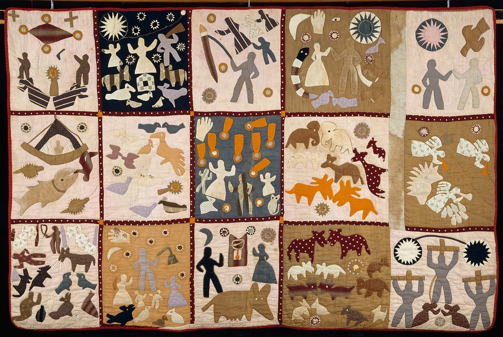 Pictorial Quilt Museum Of Fine Arts Boston