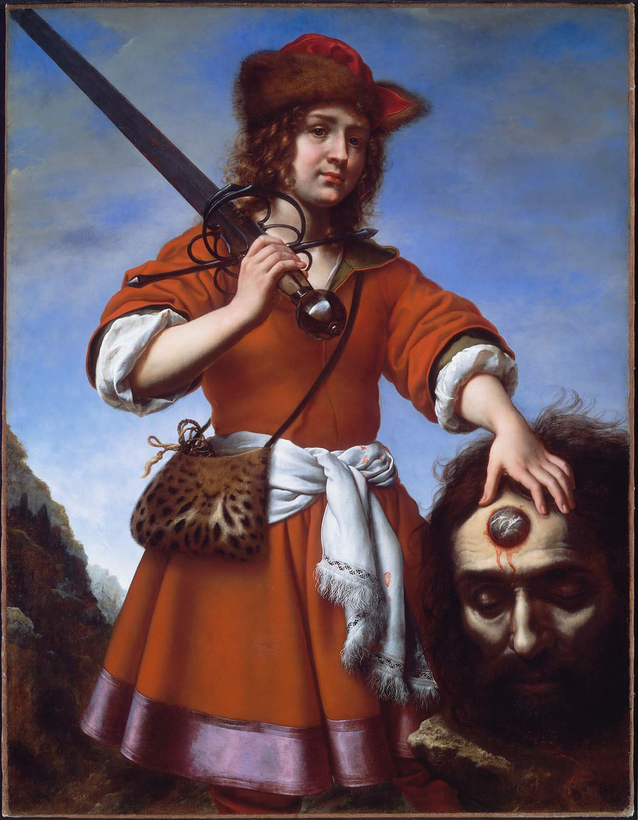 David with the head of goliath museum of fine arts boston - Immagini di david e golia ...