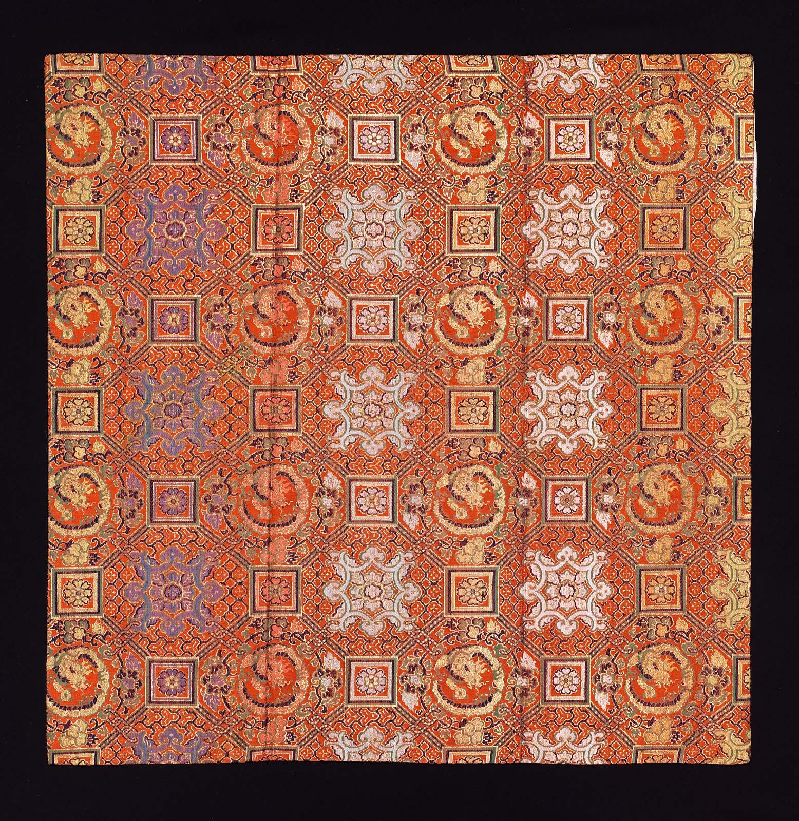 buddhist altar cloth uchishiki museum of fine arts boston