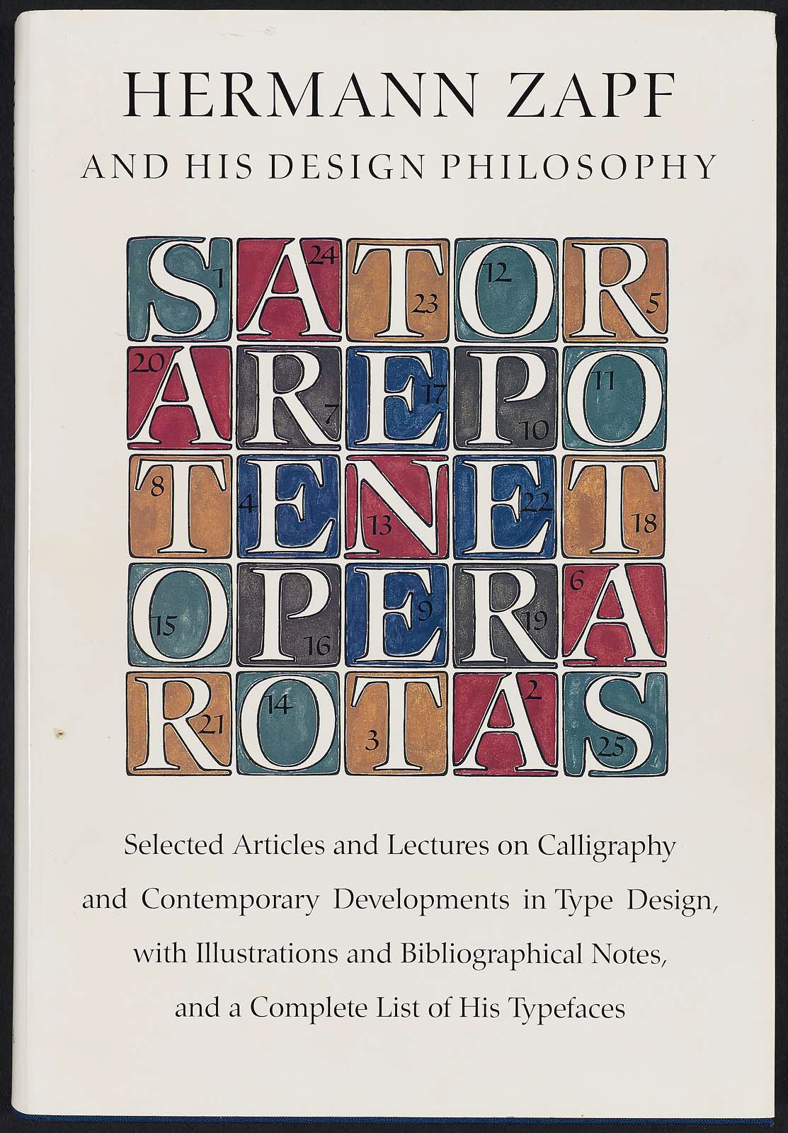 Hermann Zapf His Design Philosophy Selected Articles