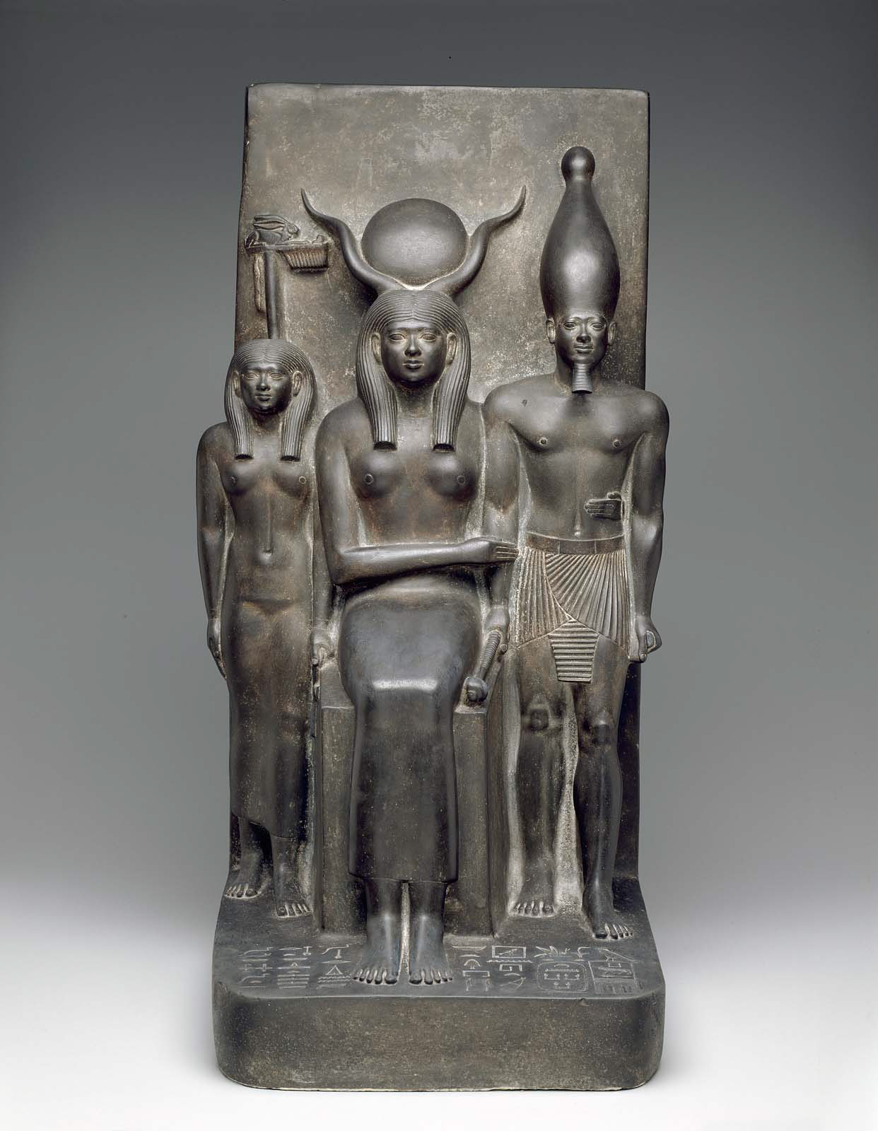 Egyptian art museum of fine arts boston king menkaura the goddess hathor and the deified hare nome biocorpaavc Gallery