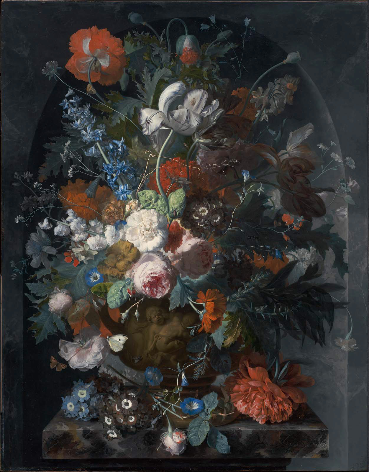 Vase of flowers in a niche museum of fine arts boston vase of flowers in a niche reviewsmspy