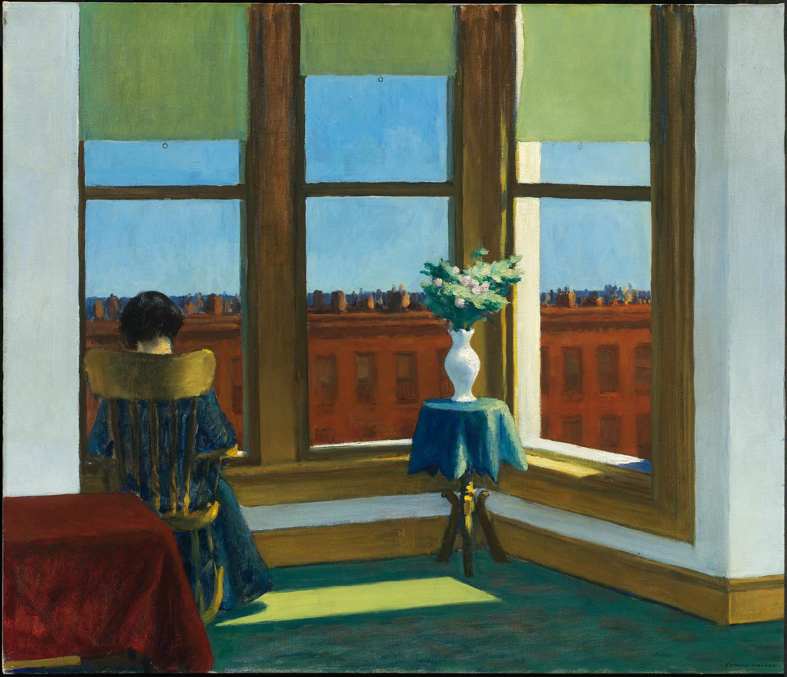 Edward Hooper – Room in Brooklyn - 1932