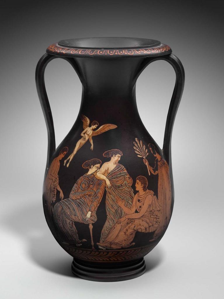 Two Handled Vase Pelike Mfa For Educators