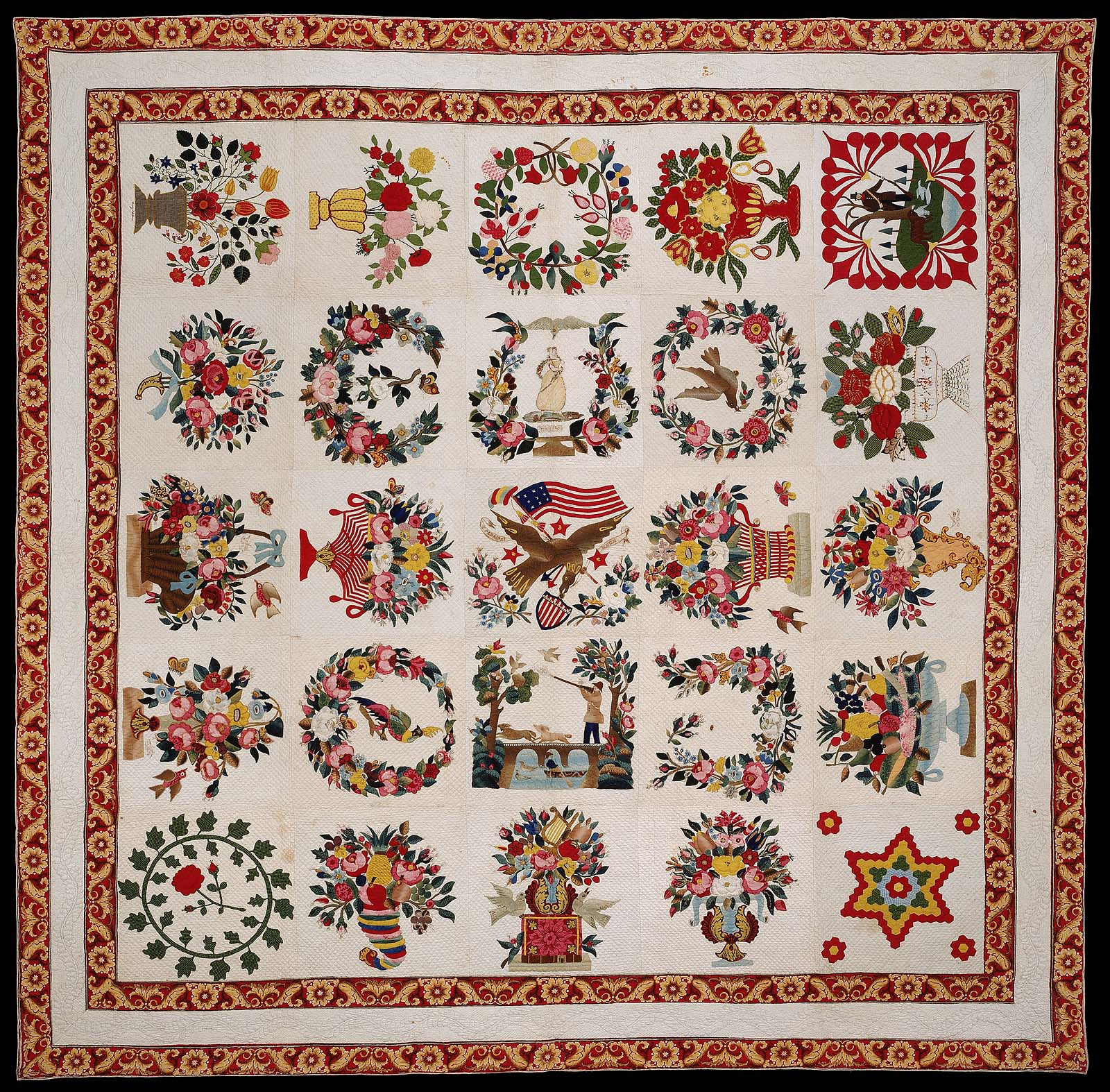 Album quilt | Museum of Fine Arts, Boston : boston quilt - Adamdwight.com