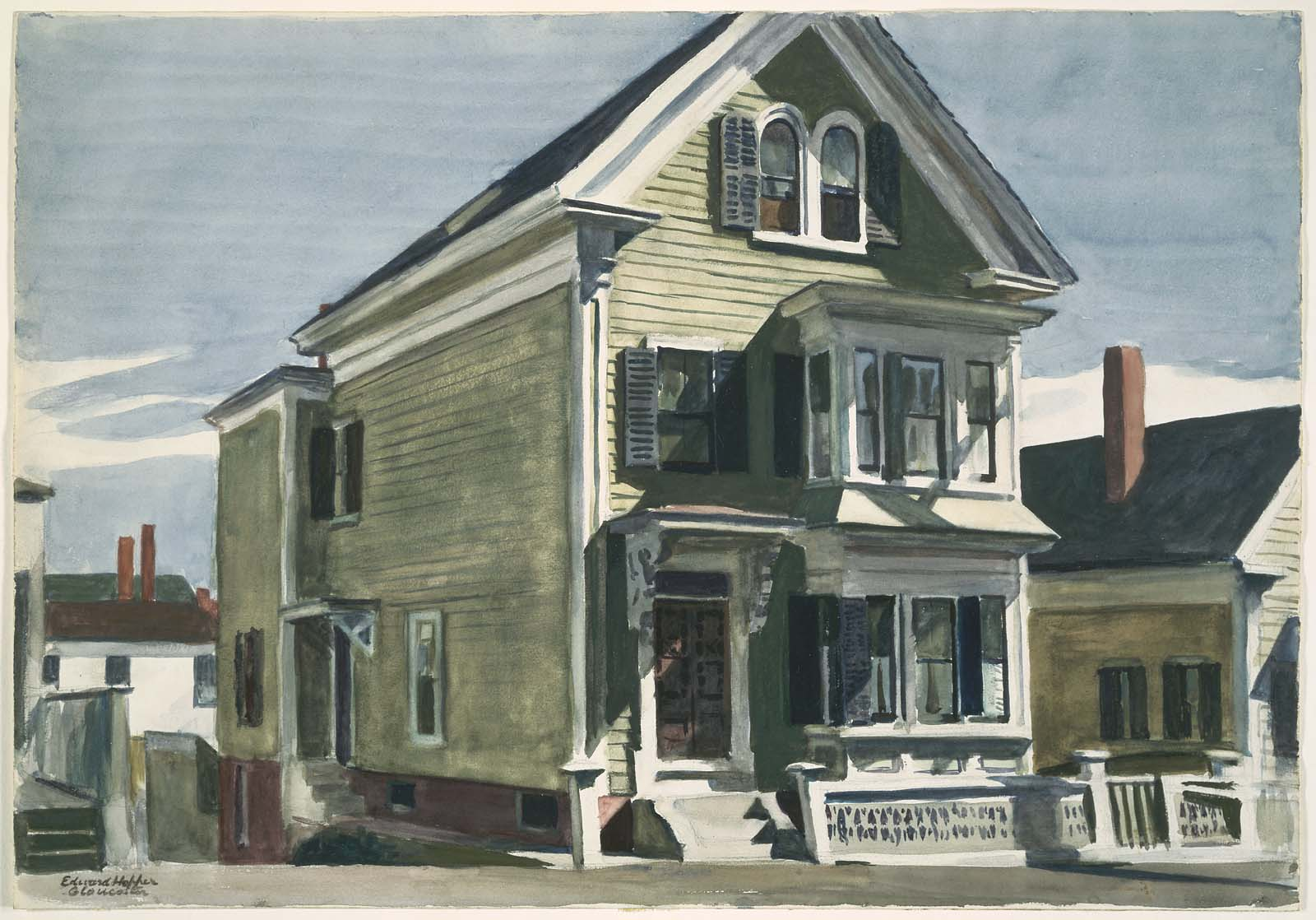 Plus de 1000 id es propos de edward hopper sur pinterest mus es new york - Edward hopper maison ...