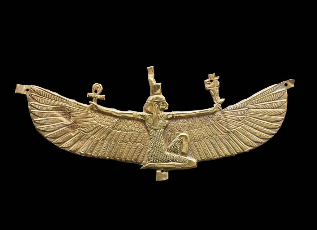 winged isis pectoral museum of fine arts boston
