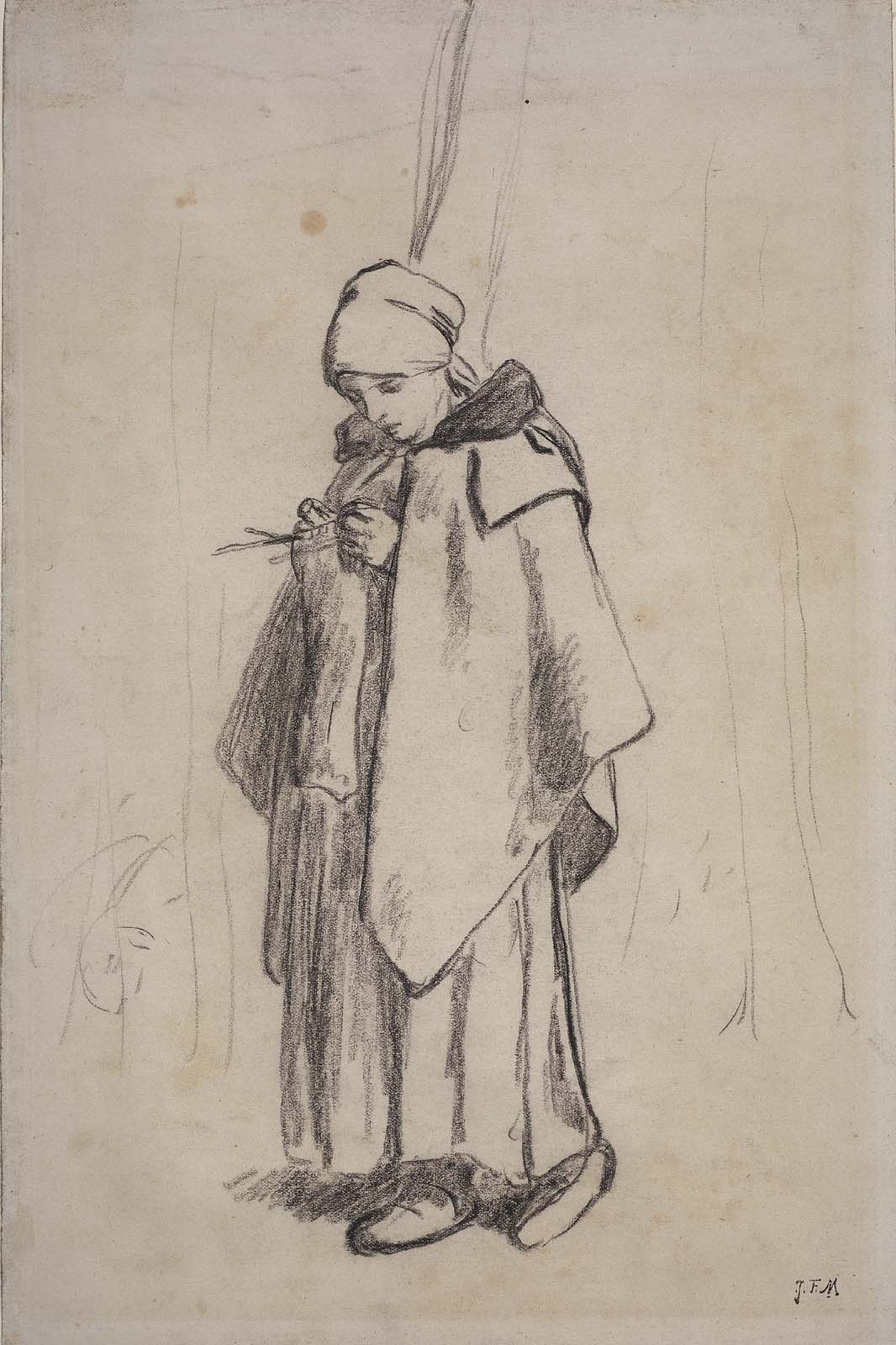 drawings by millet museum of fine arts boston
