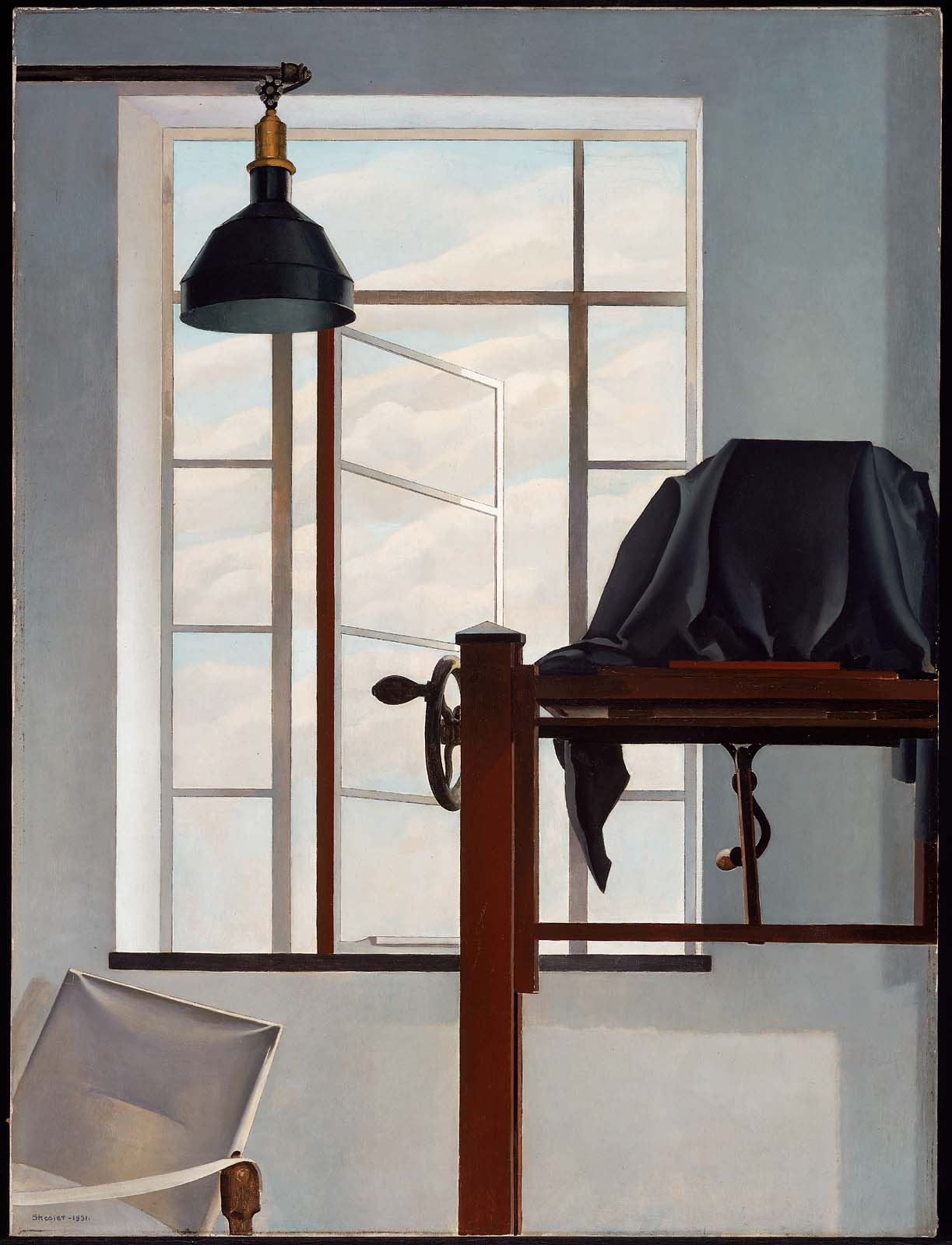 Charles Sheeler Drawings You Are Here