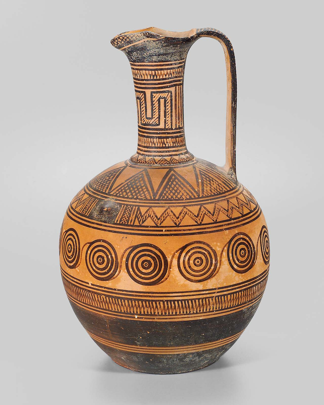 Ancient greek vases patterns the image for Pottery patterns