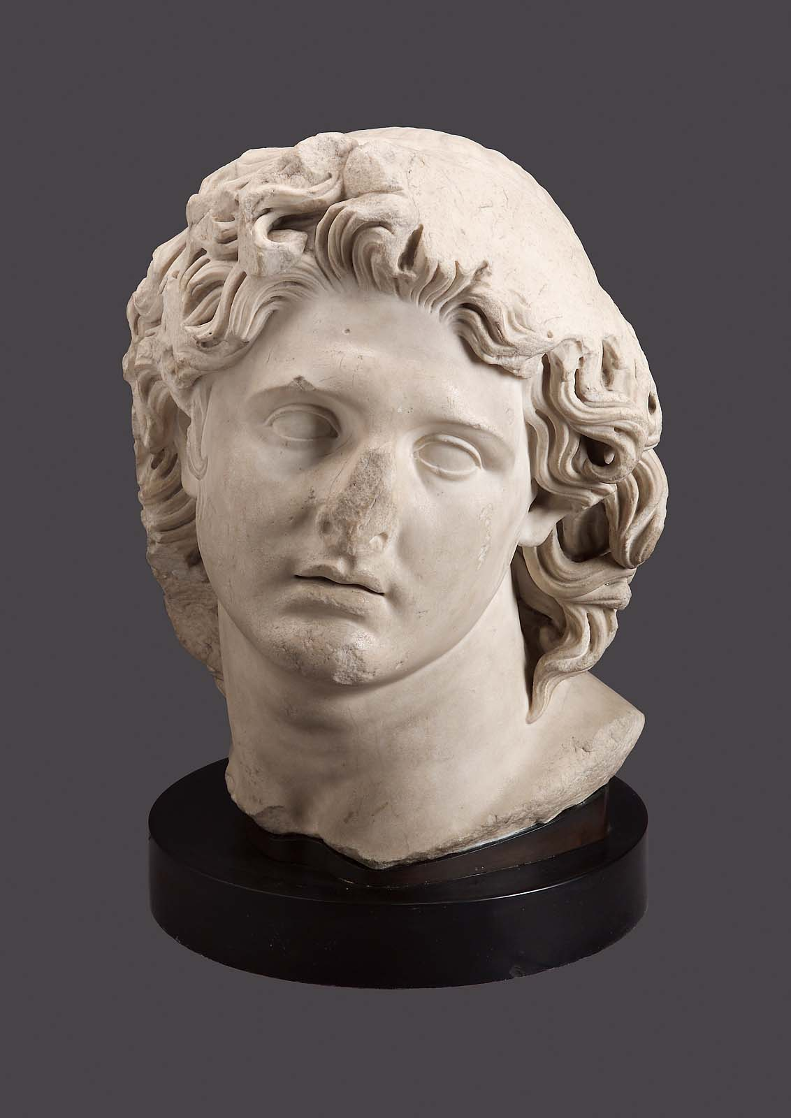 Head of alexander the great or helios the sun god museum of fine you are here kristyandbryce Choice Image