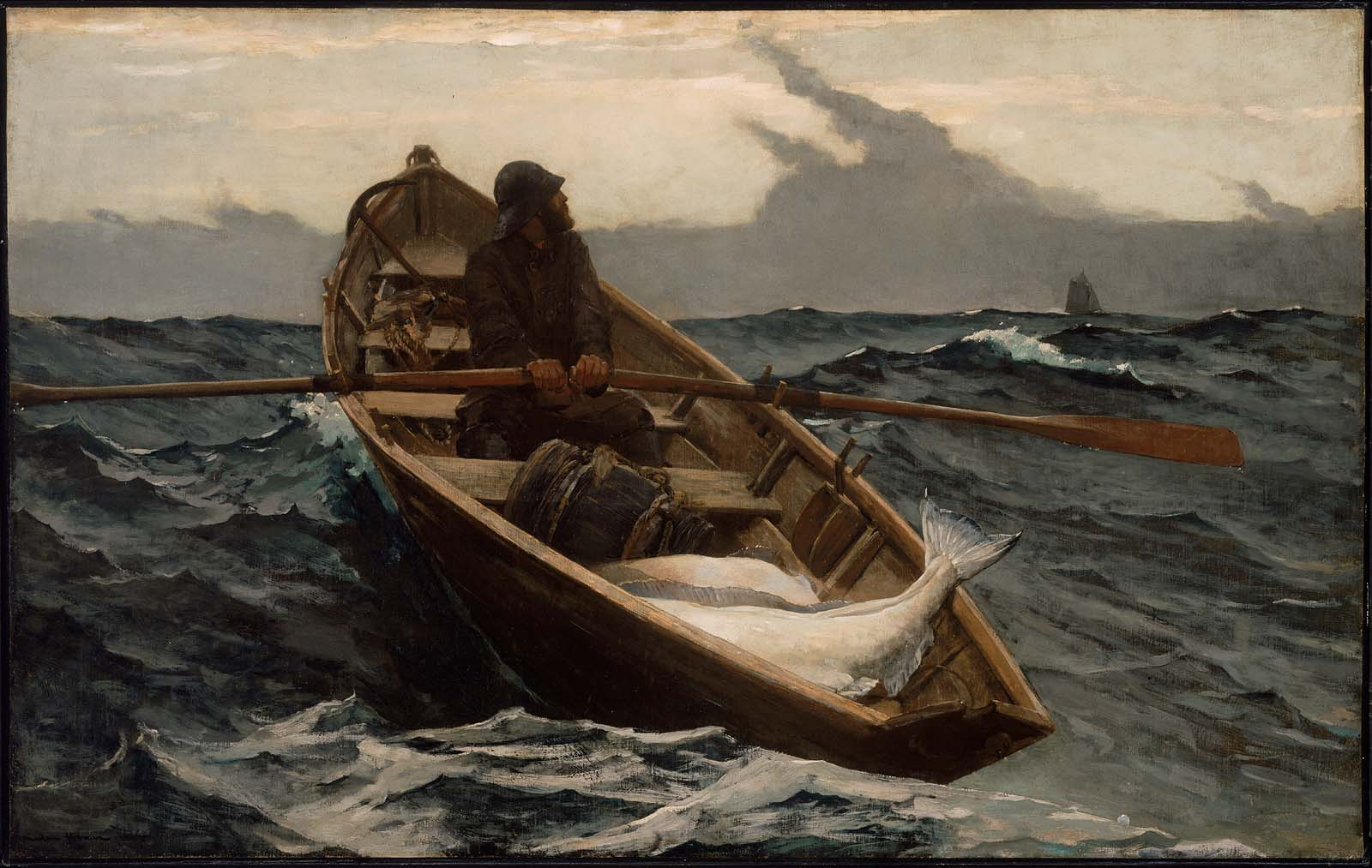 Image result for winslow homer rowing home