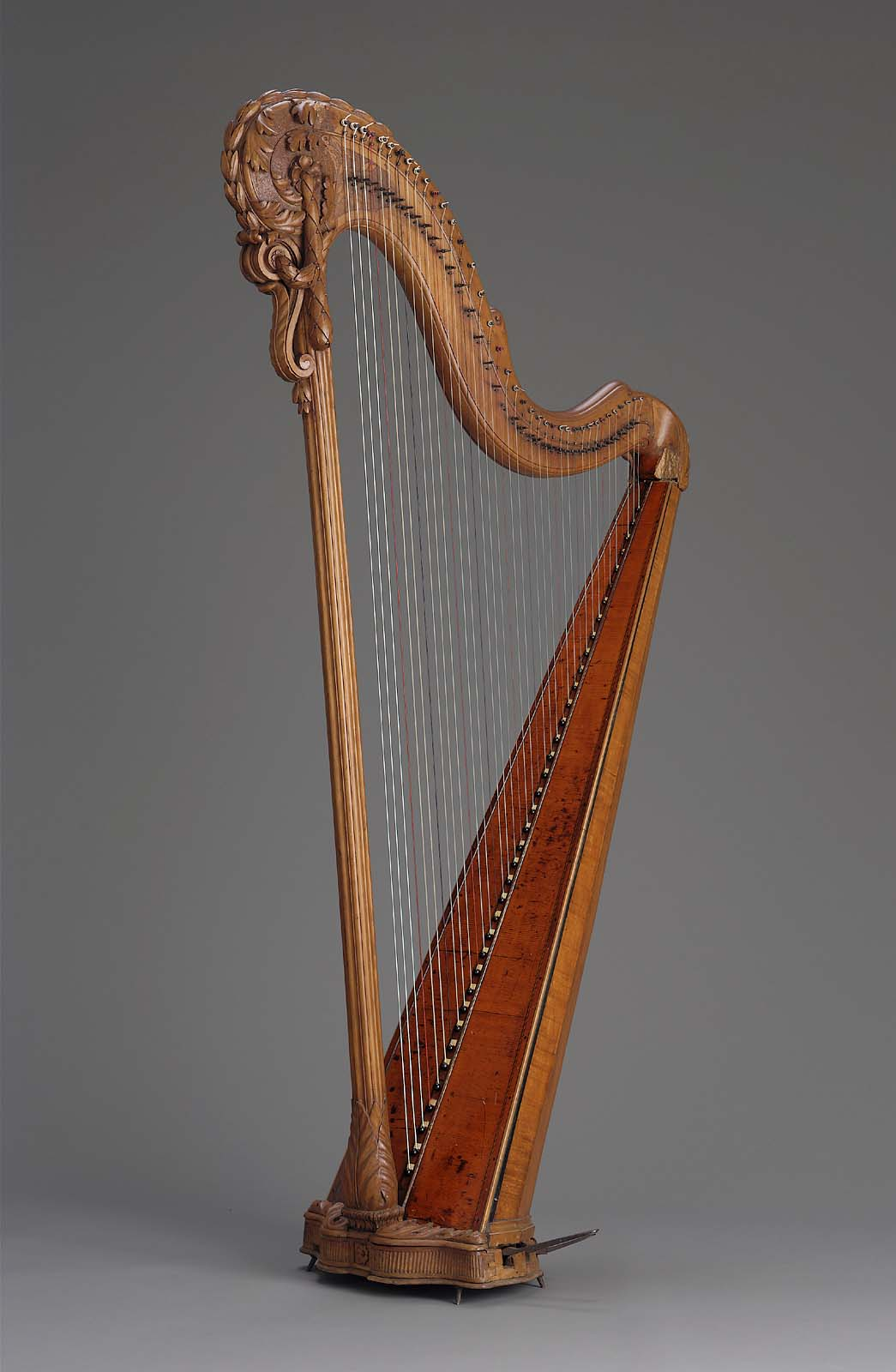 Pedal Harp Mechanism