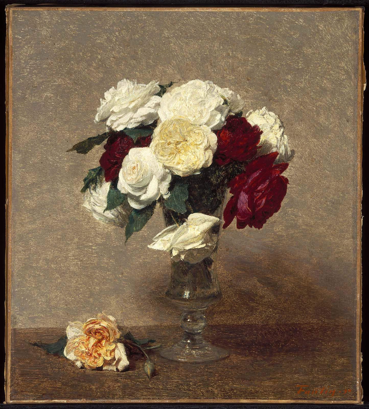 Roses in a glass vase museum of fine arts boston roses in a glass vase reviewsmspy