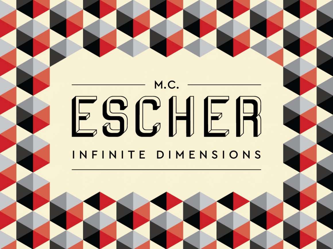 M.C. Escher: Infinite Dimensions graphic