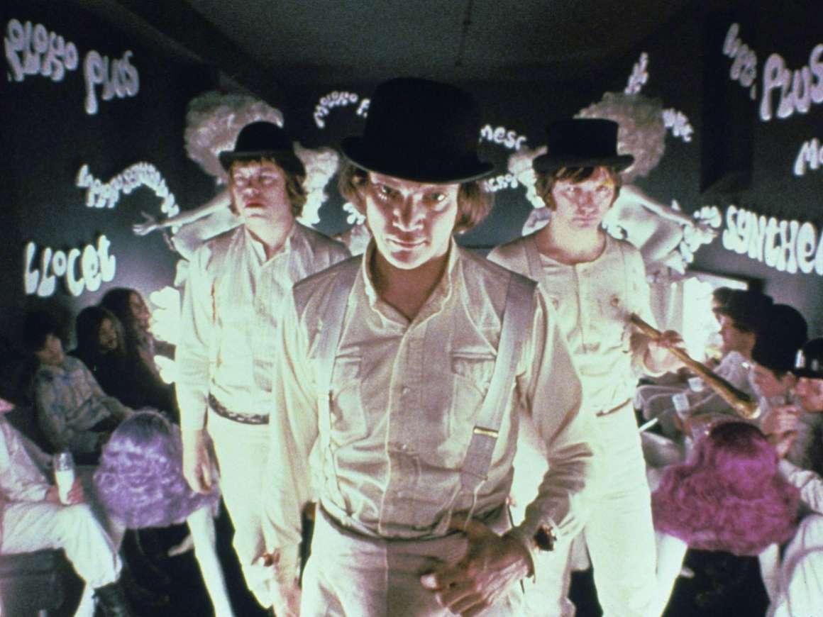 Film still from A Clockwork Orange
