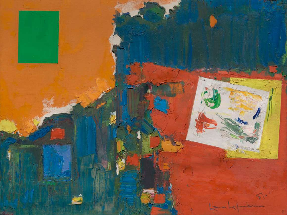 German abstract expressionism painting