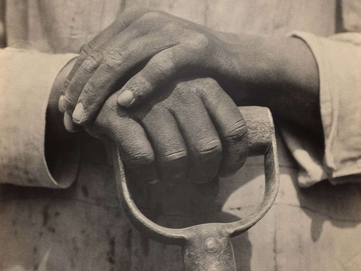 Tina Modotti's photograph, Worker's Hands, Mexico