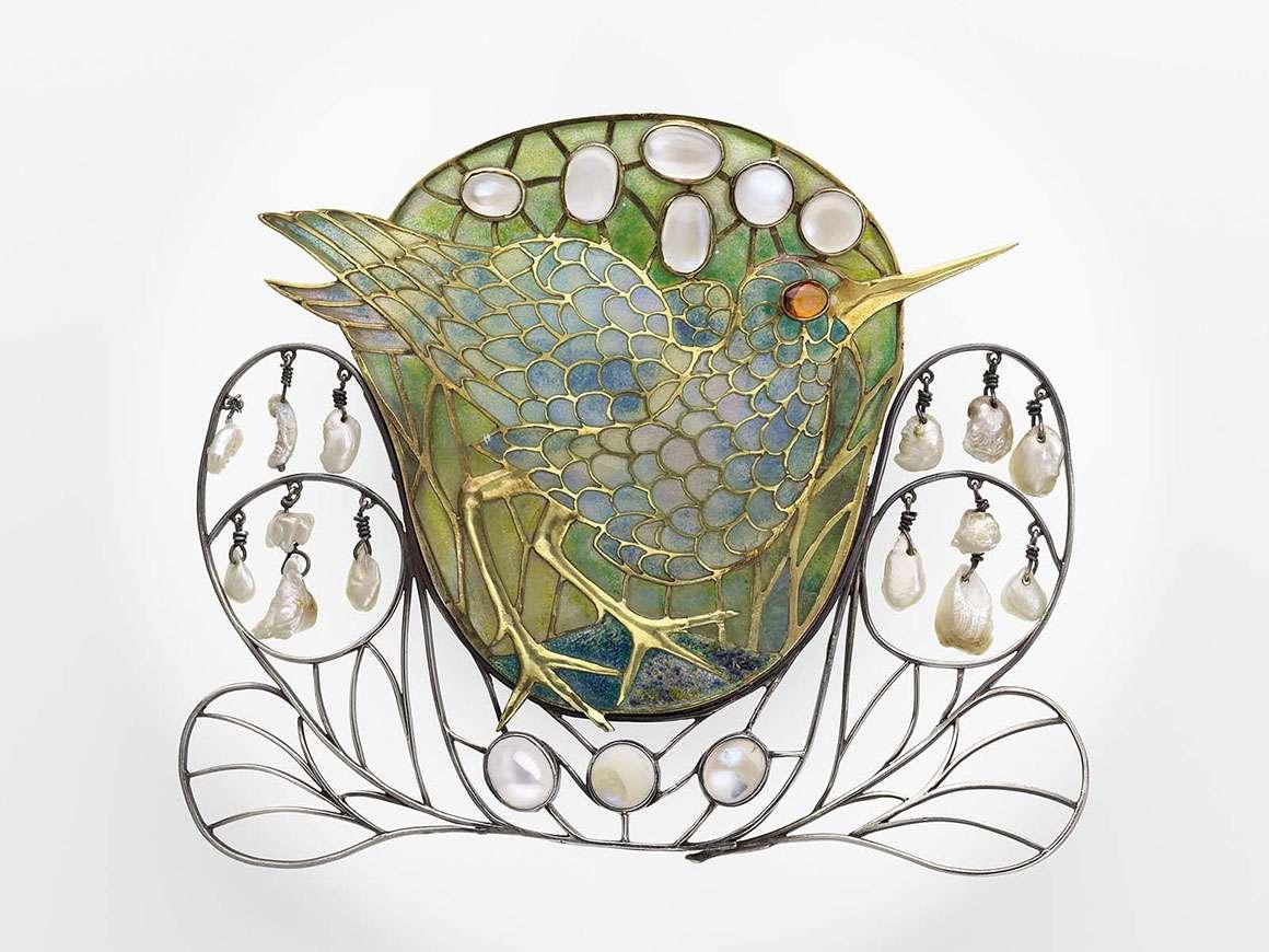 沼泽鸟胸针