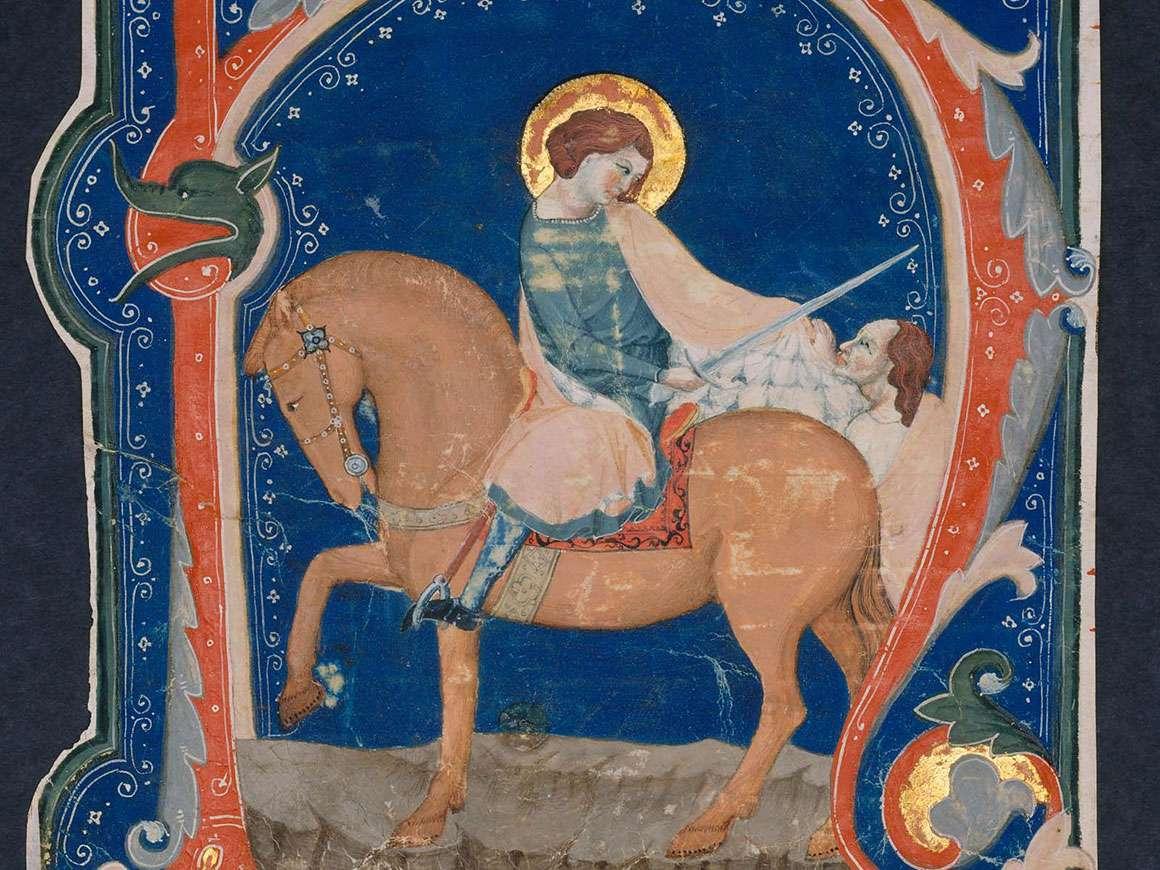 """14世纪初,从与圣马丁和乞丐的反冠军开始的""""H""""切割"""