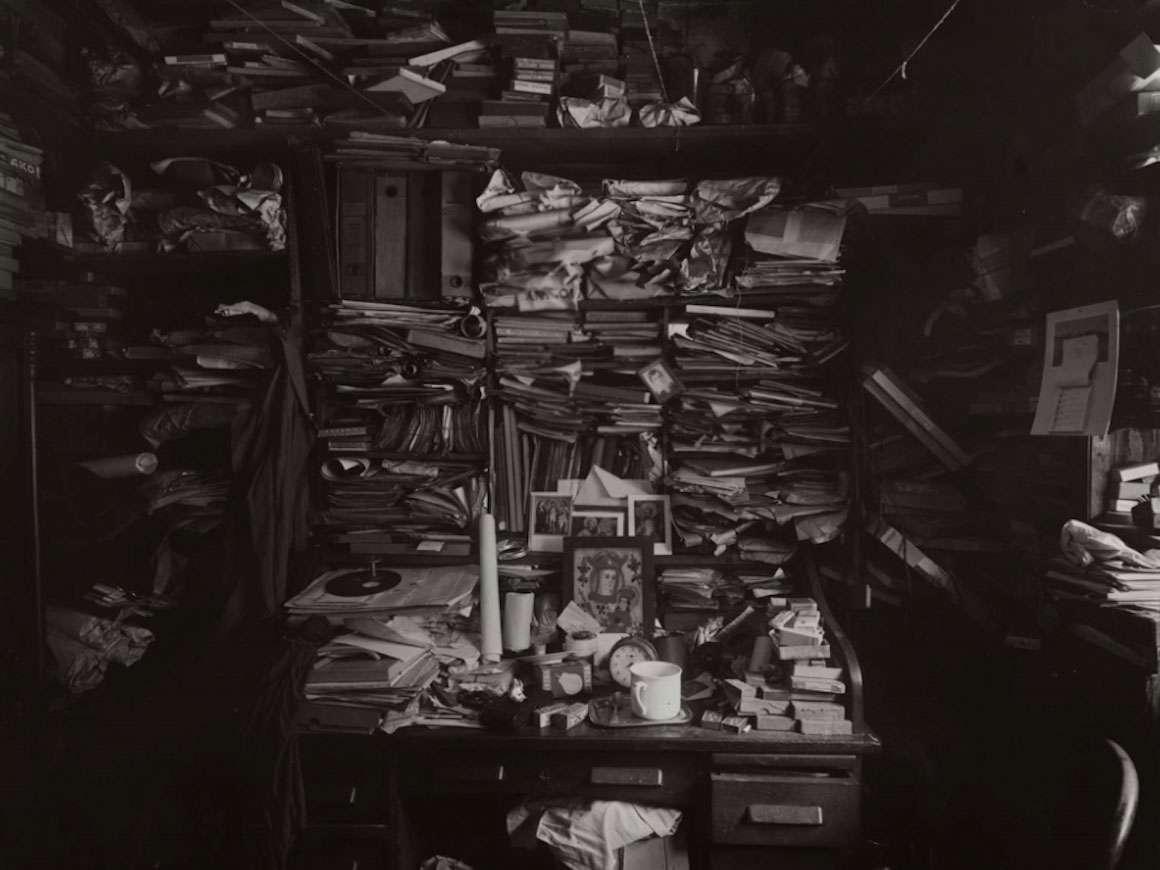 约瑟夫Sudek的照片细节,迷宫在我的工作室