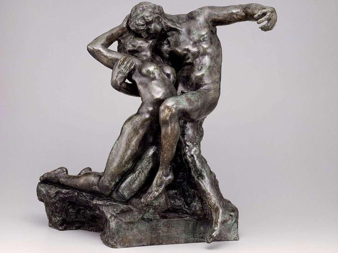 奥古斯特罗丹的雕塑,永恒的春天
