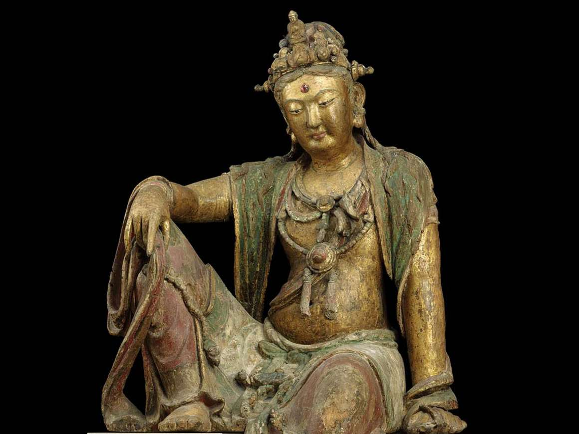 Guanyin, Bodhisattva of Compassion, about 1200