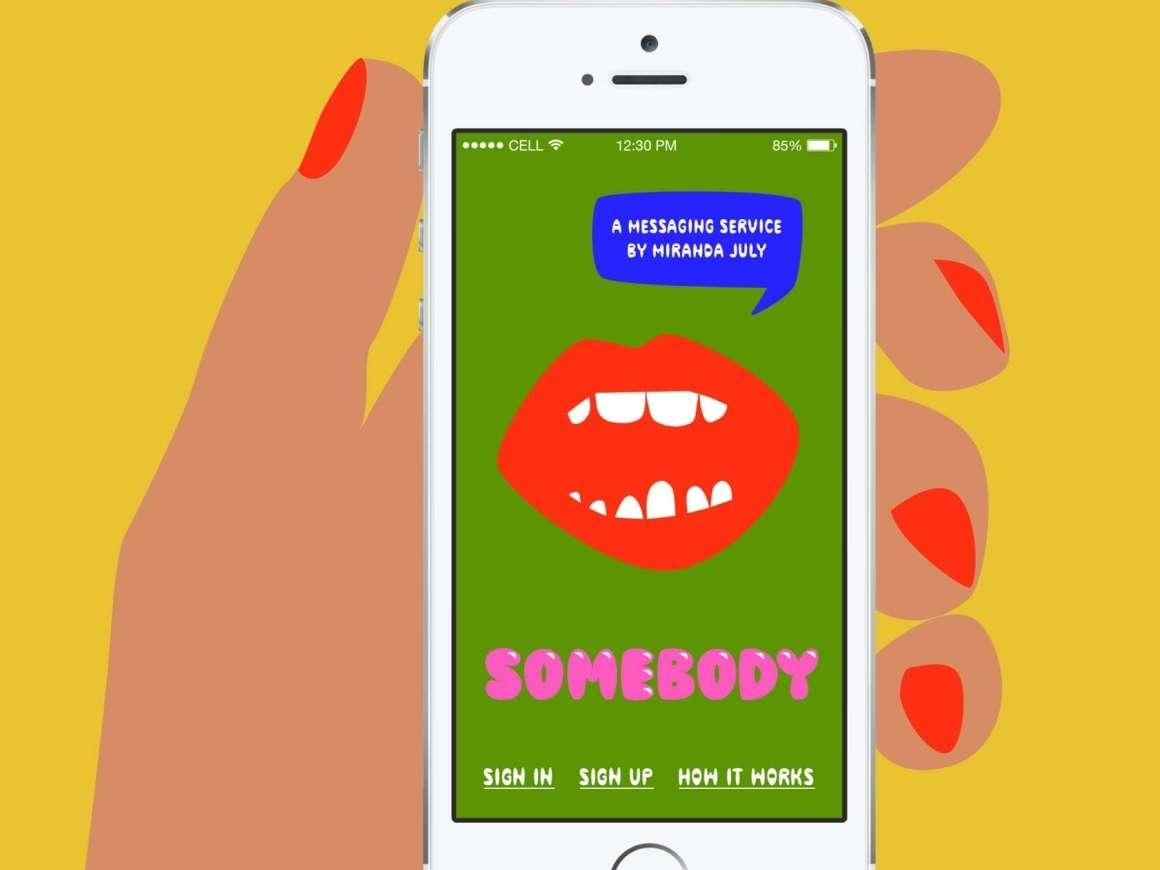 Conversation Piece, Somebody app