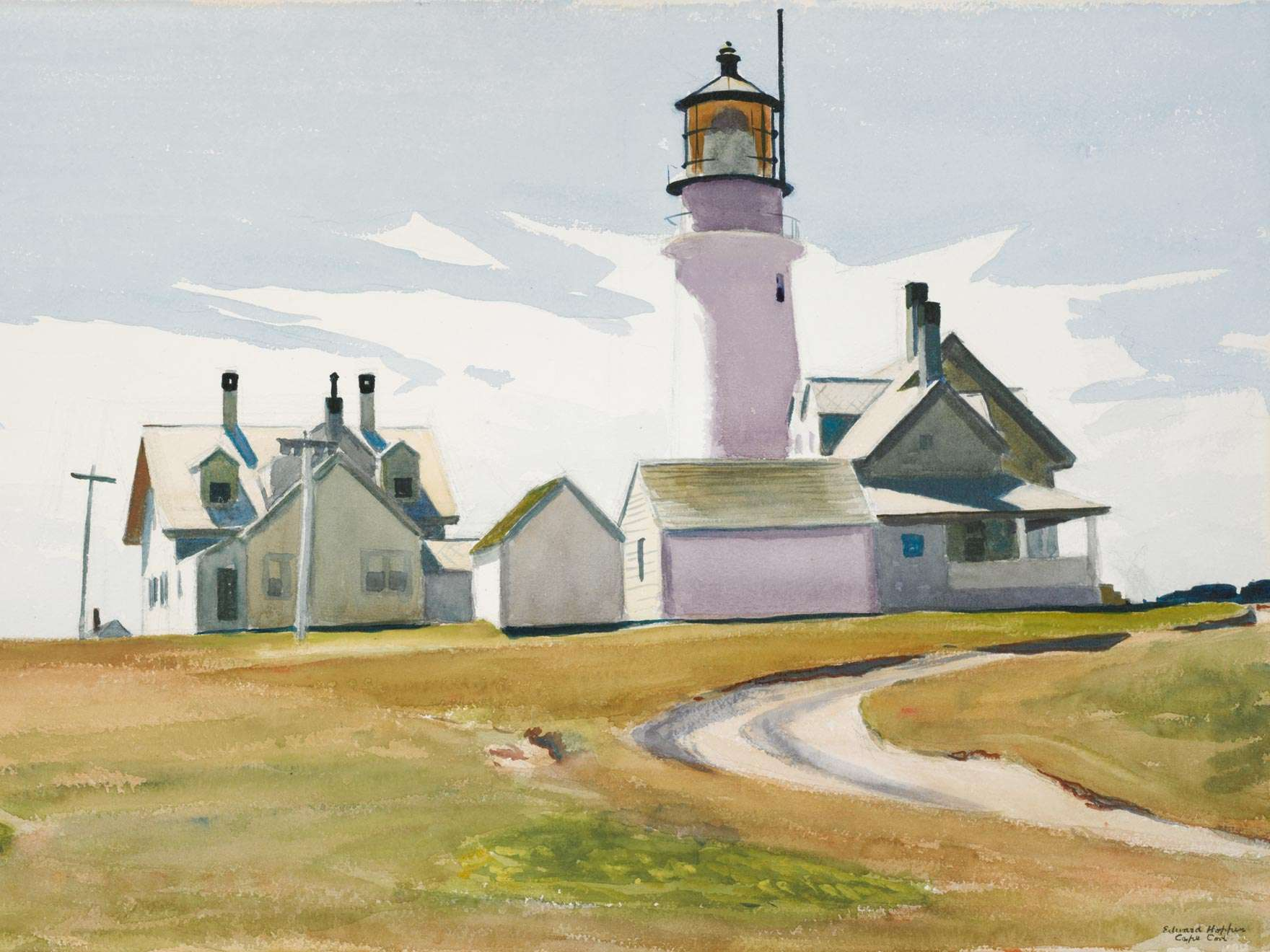 Edward Hopper, Highland Light, 1930