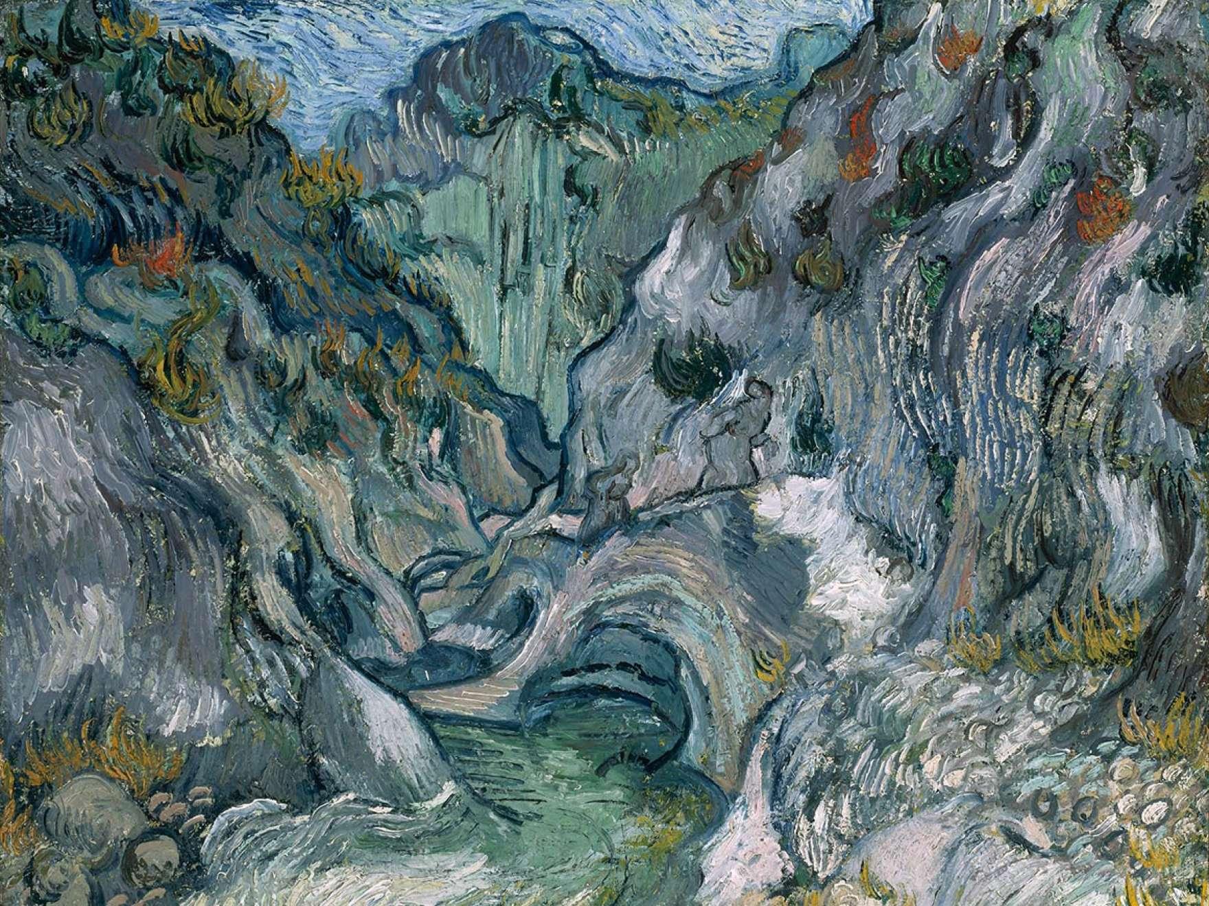 Vincent van Gogh, Ravine, 1889