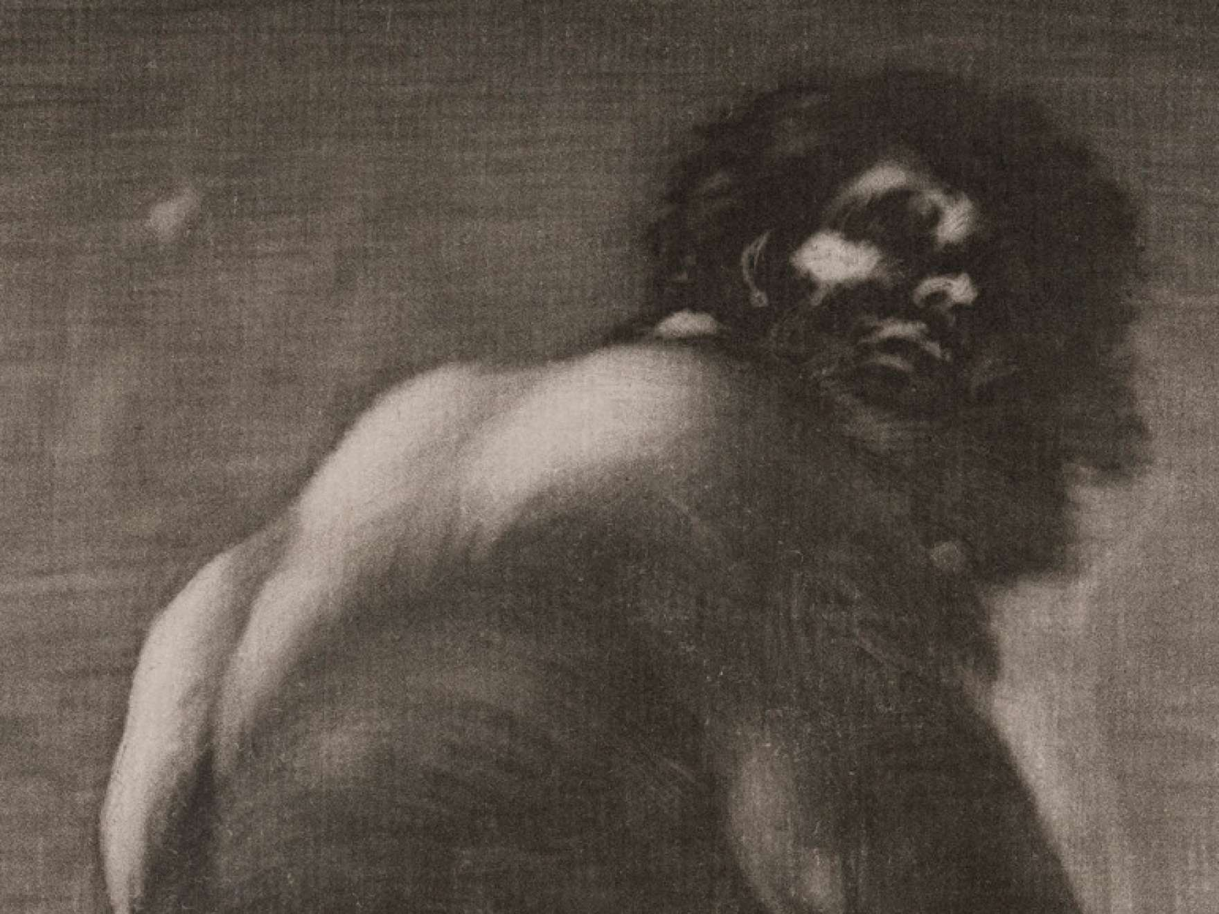 Francisco Goya, Seated Giant, by 1818