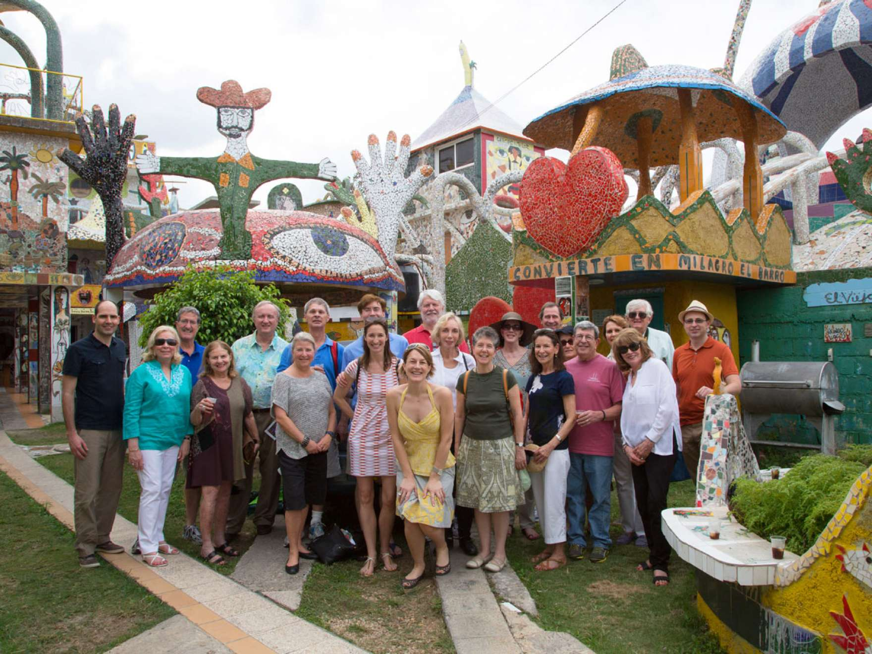 Group of Patrons during trip to Cuba