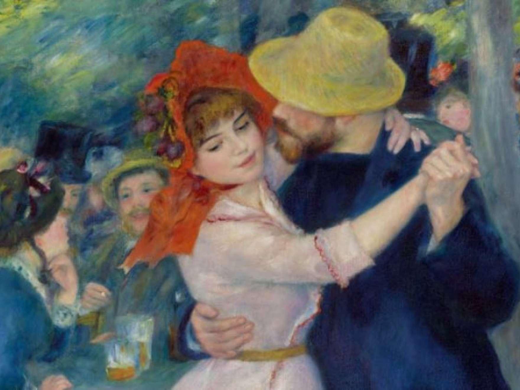 Pierre-Auguste Renoir, Dance at Bougival, 1883