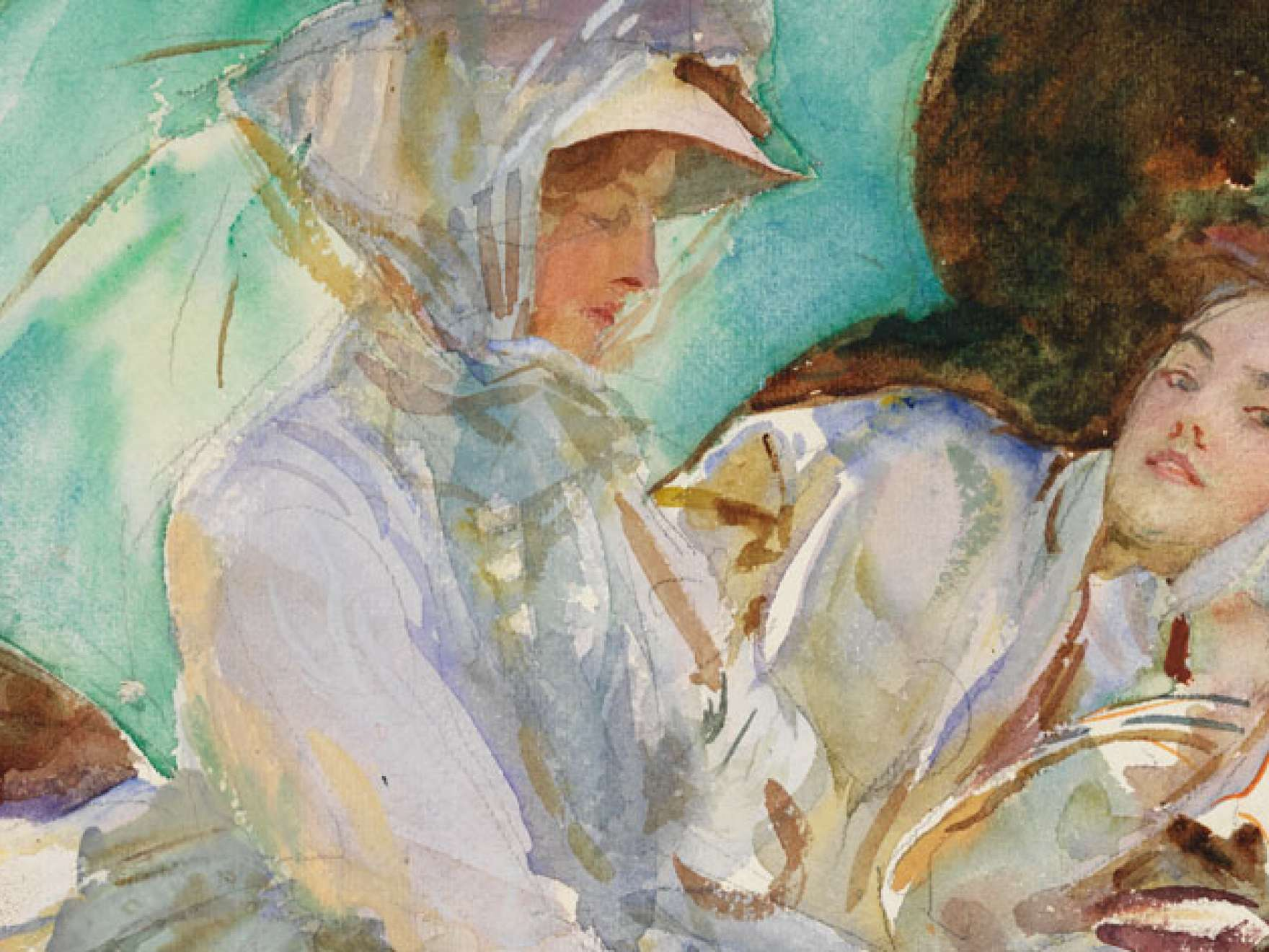 John Singer Sargent Watercolors exhibition image