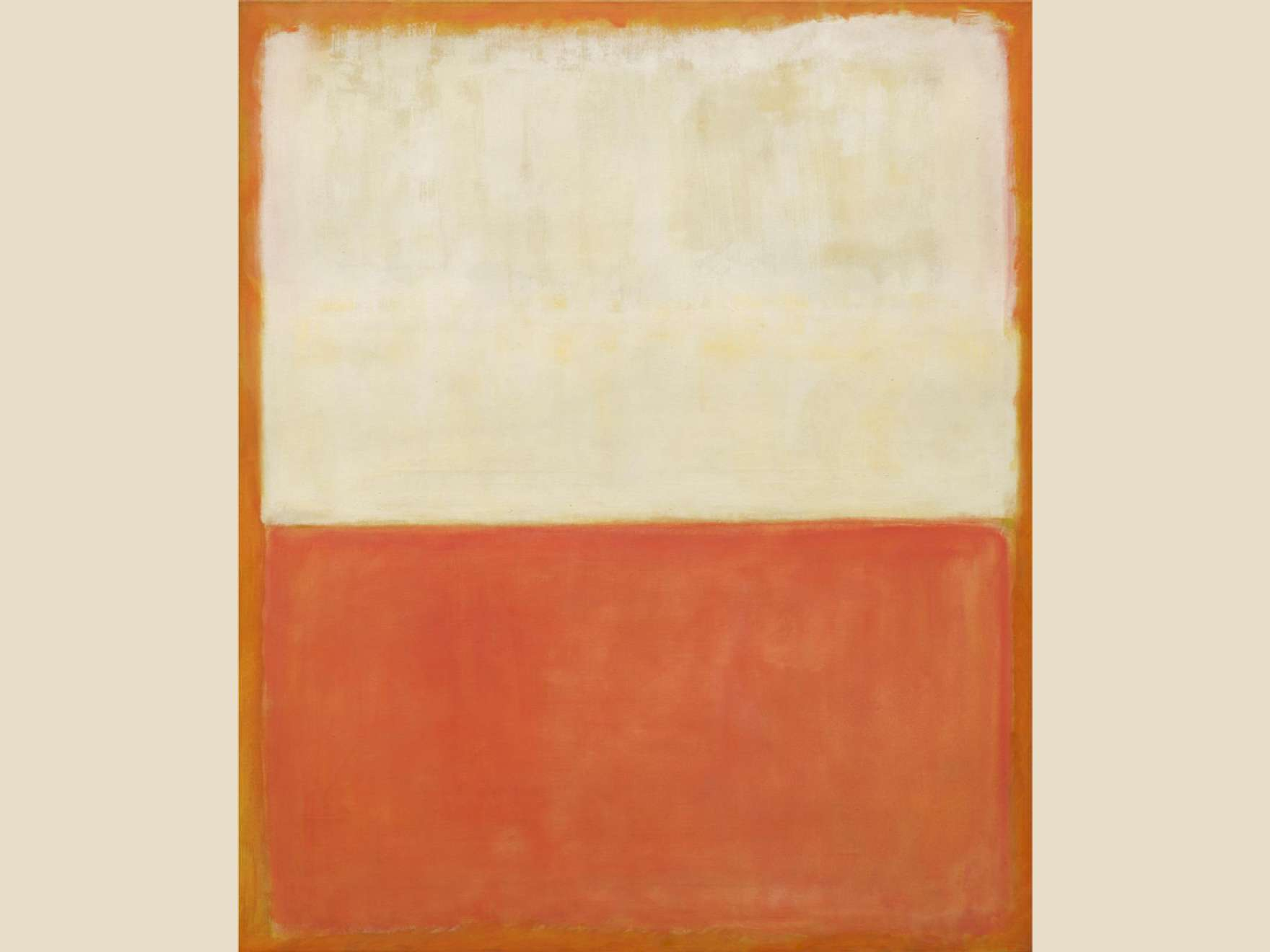 Mark Rothko's 1955 painting, Untitled