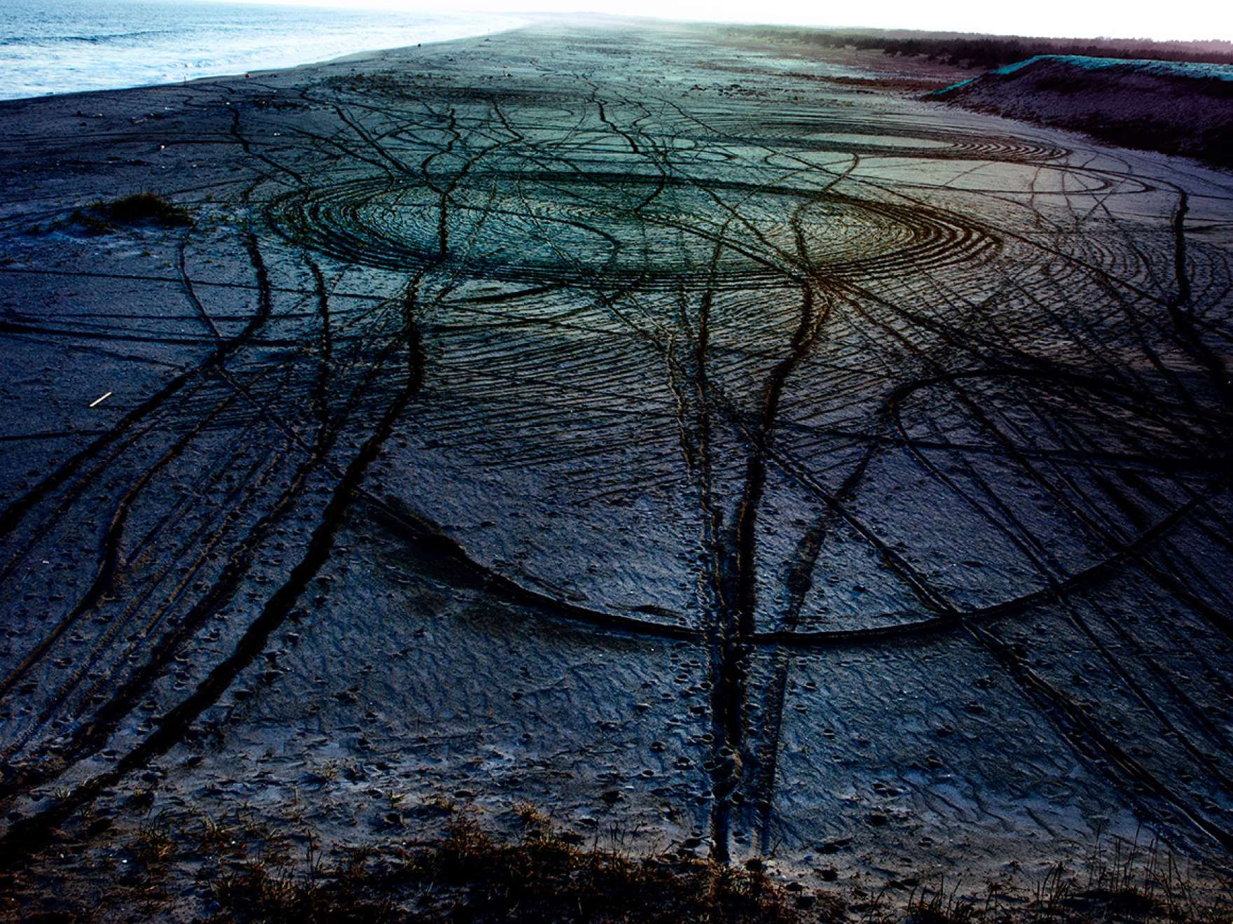 Lieko Shiga, ​Rasen kaigan (Spiral Shore), 46, 2011, ​from the series ​Rasen kaigan (Spiral Shore)​​, 2011